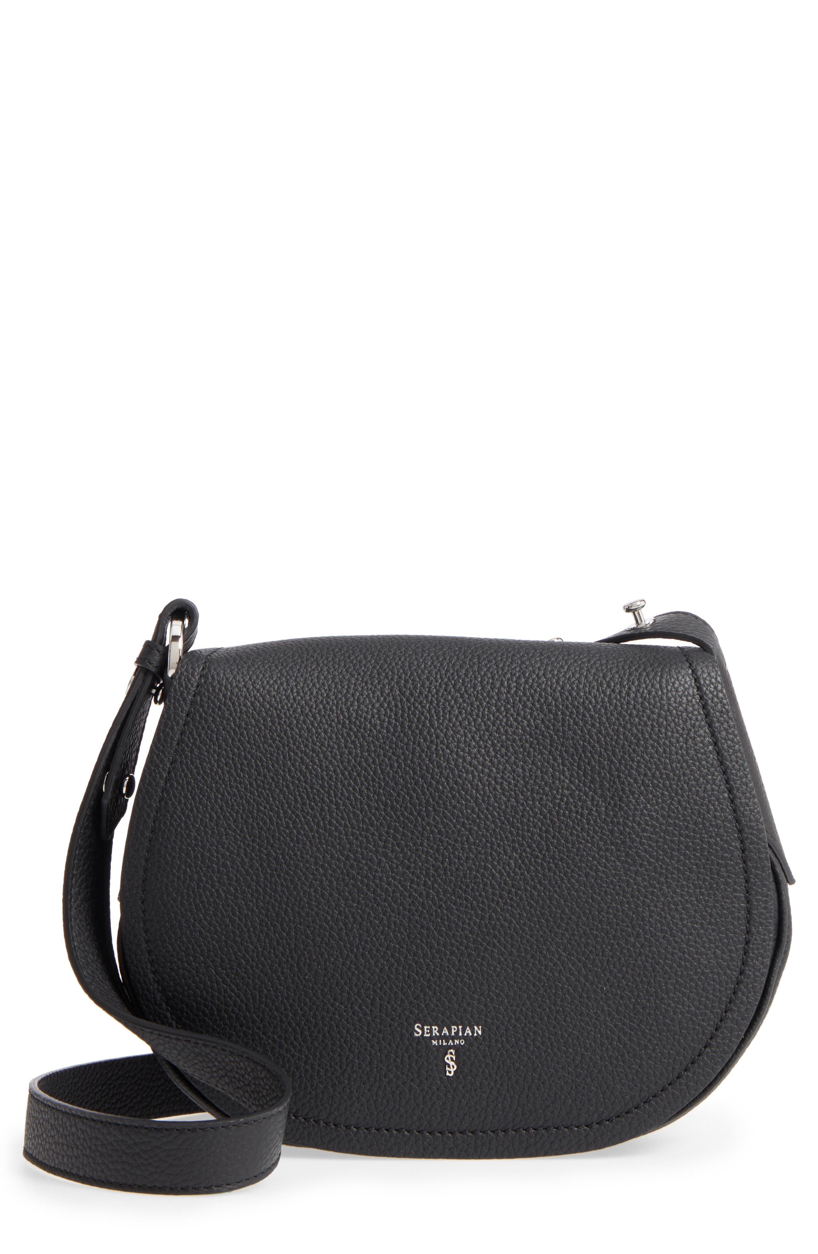 Main Image - Serapian Milano Mini Valeria Cachemire Leather Crossbody Bag