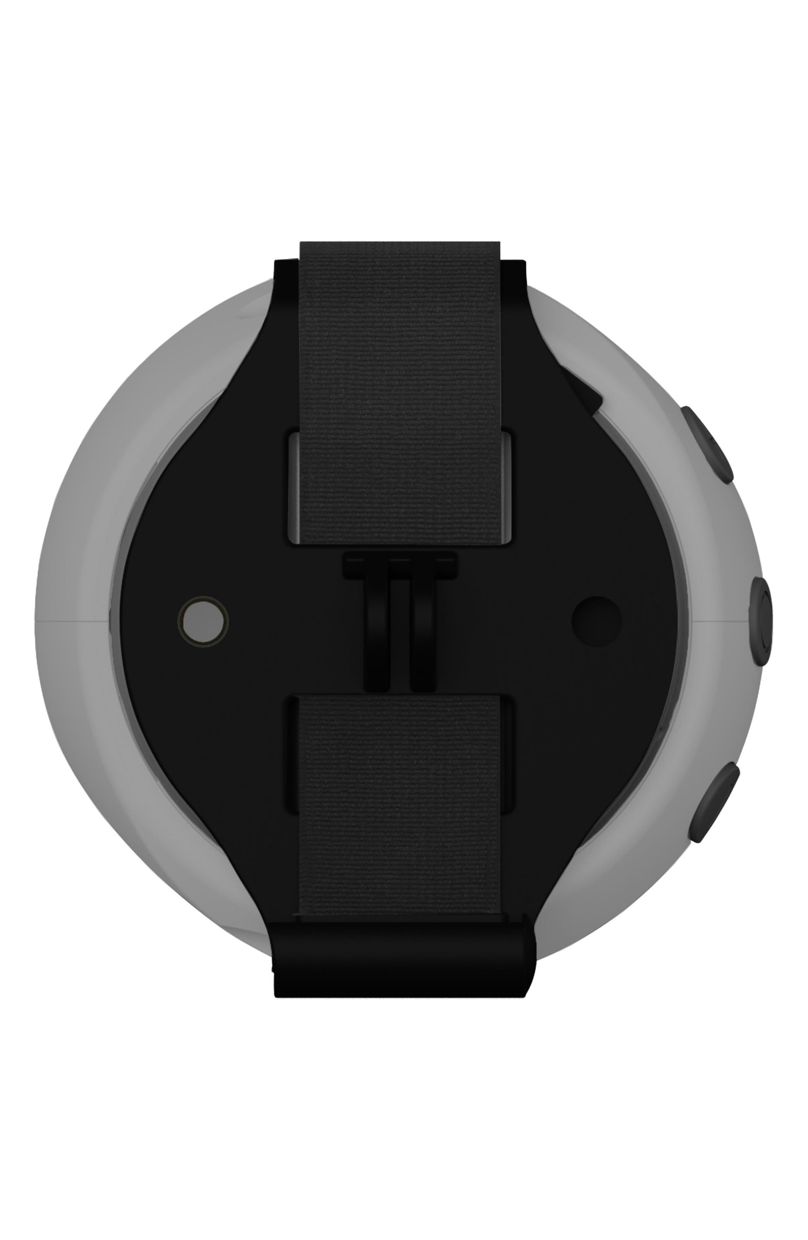 105 Portable Waterproof Bluetooth Speaker,                             Alternate thumbnail 4, color,                             Silver/ Green