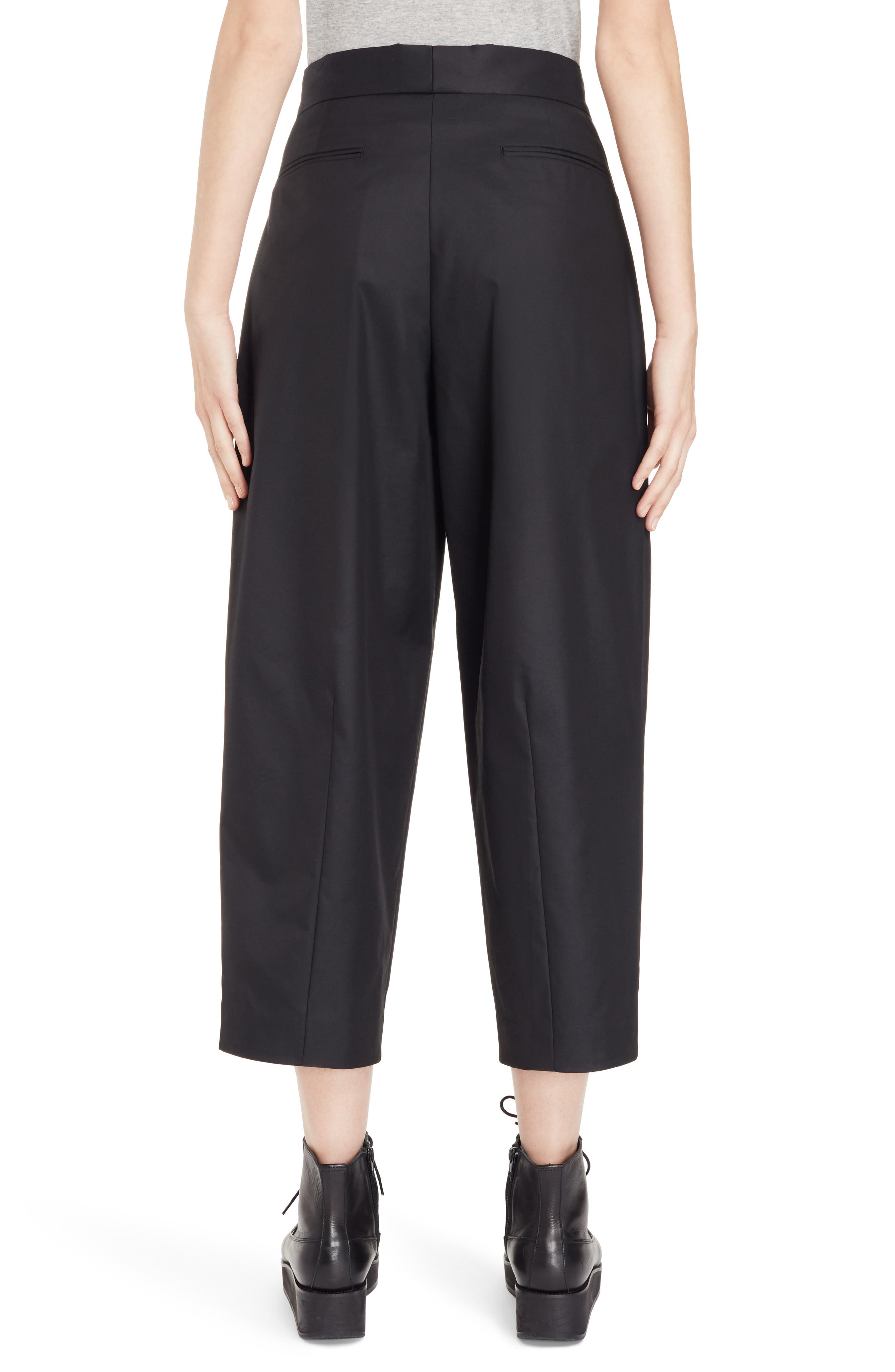 High Waist Pants,                             Alternate thumbnail 2, color,                             Black