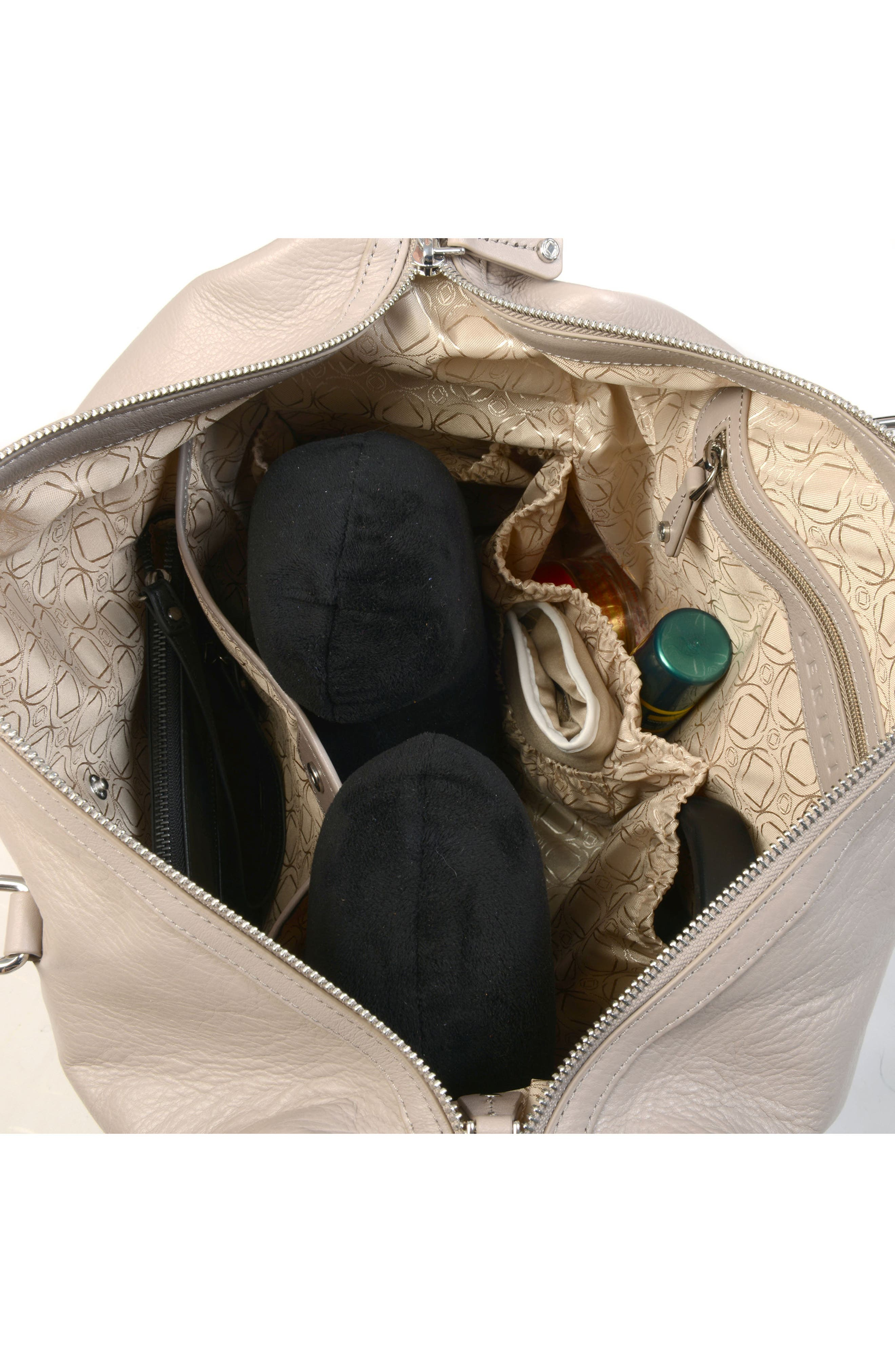 Alternate Image 5  - Kerikit Thea Leather Diaper Bag