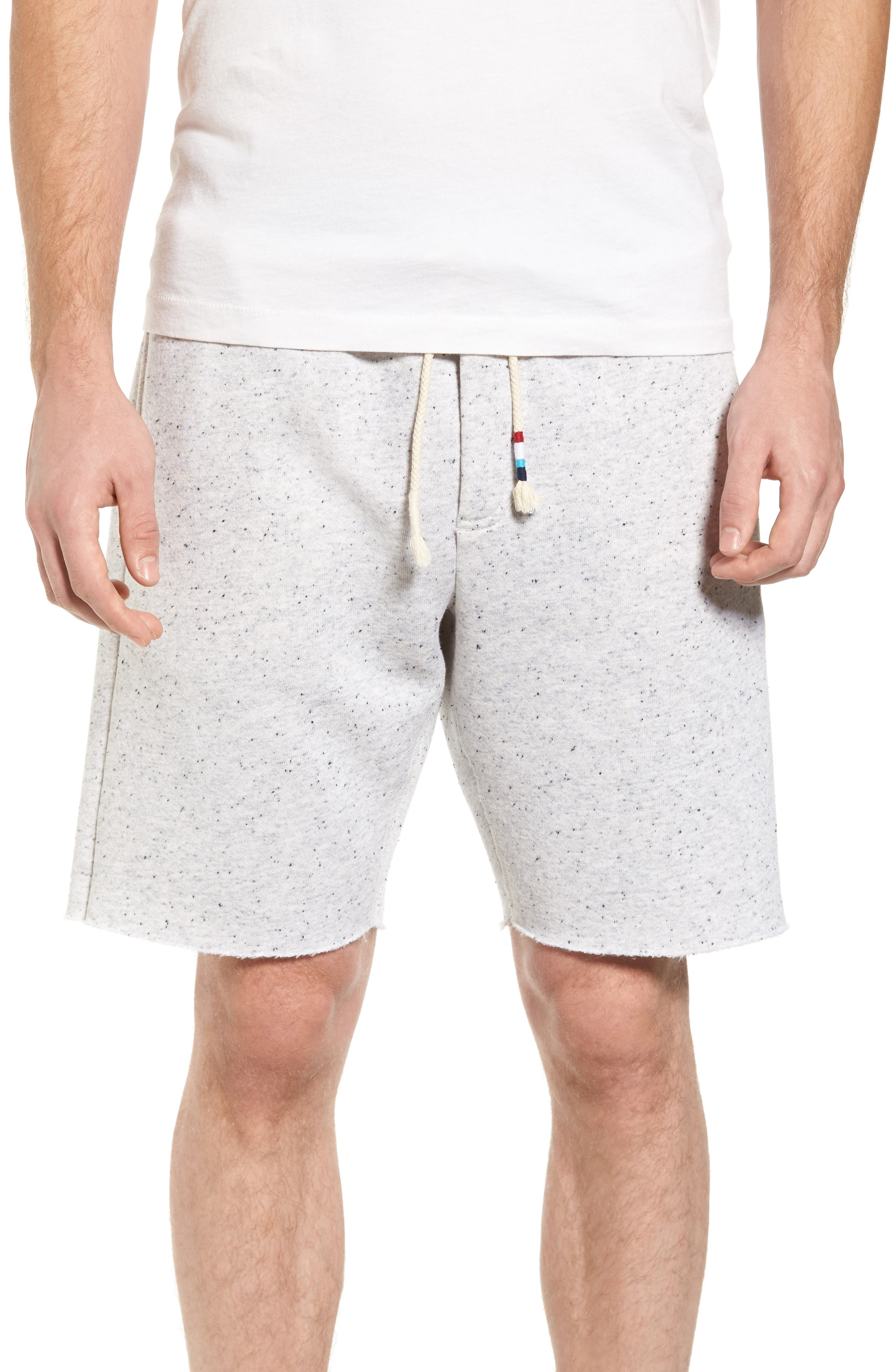 Peppered Shorts,                             Main thumbnail 1, color,                             Light Grey