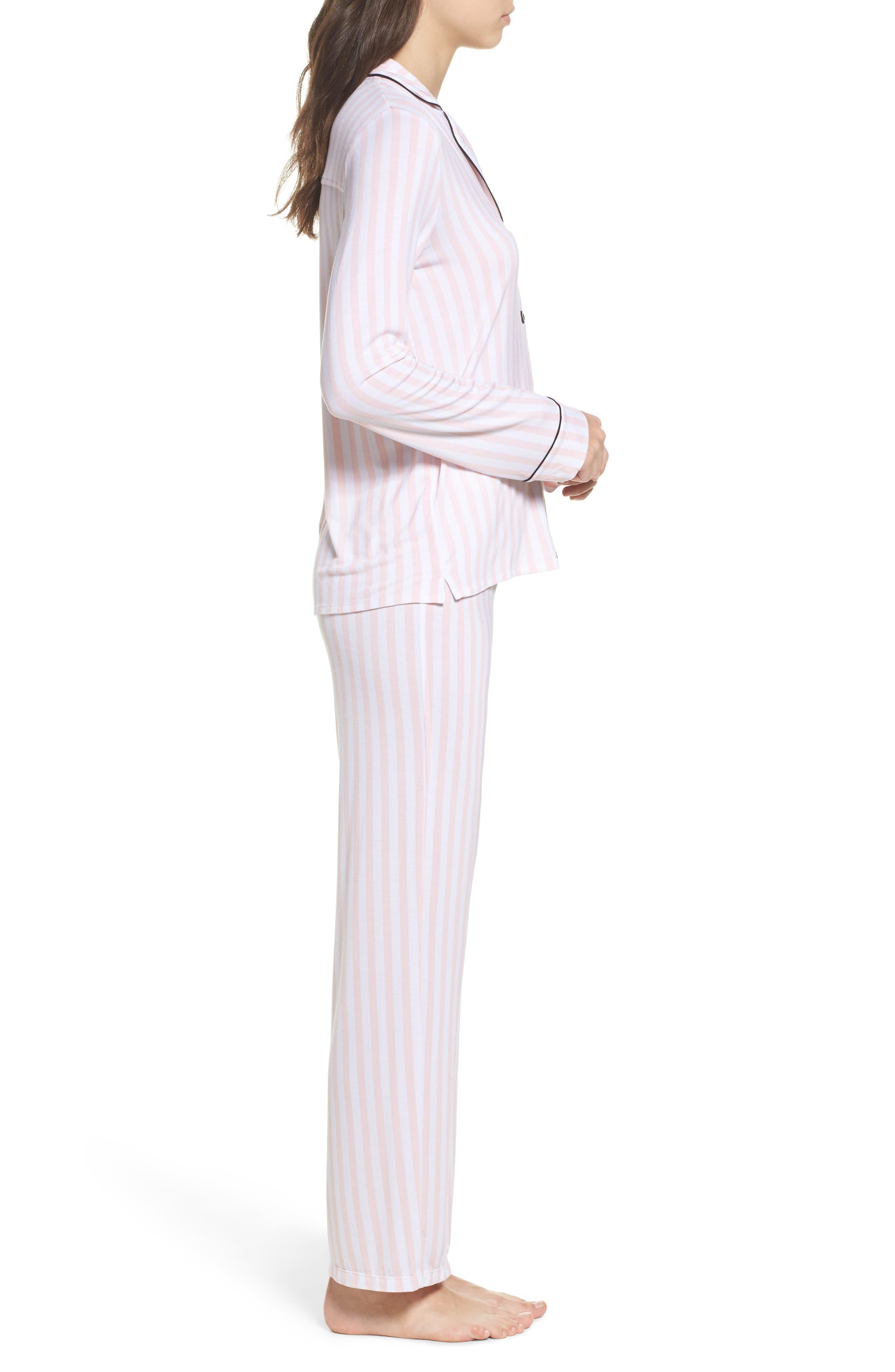 Alternate Image 3  - PJ Salvage Stretch Modal Pajamas & Eye Mask