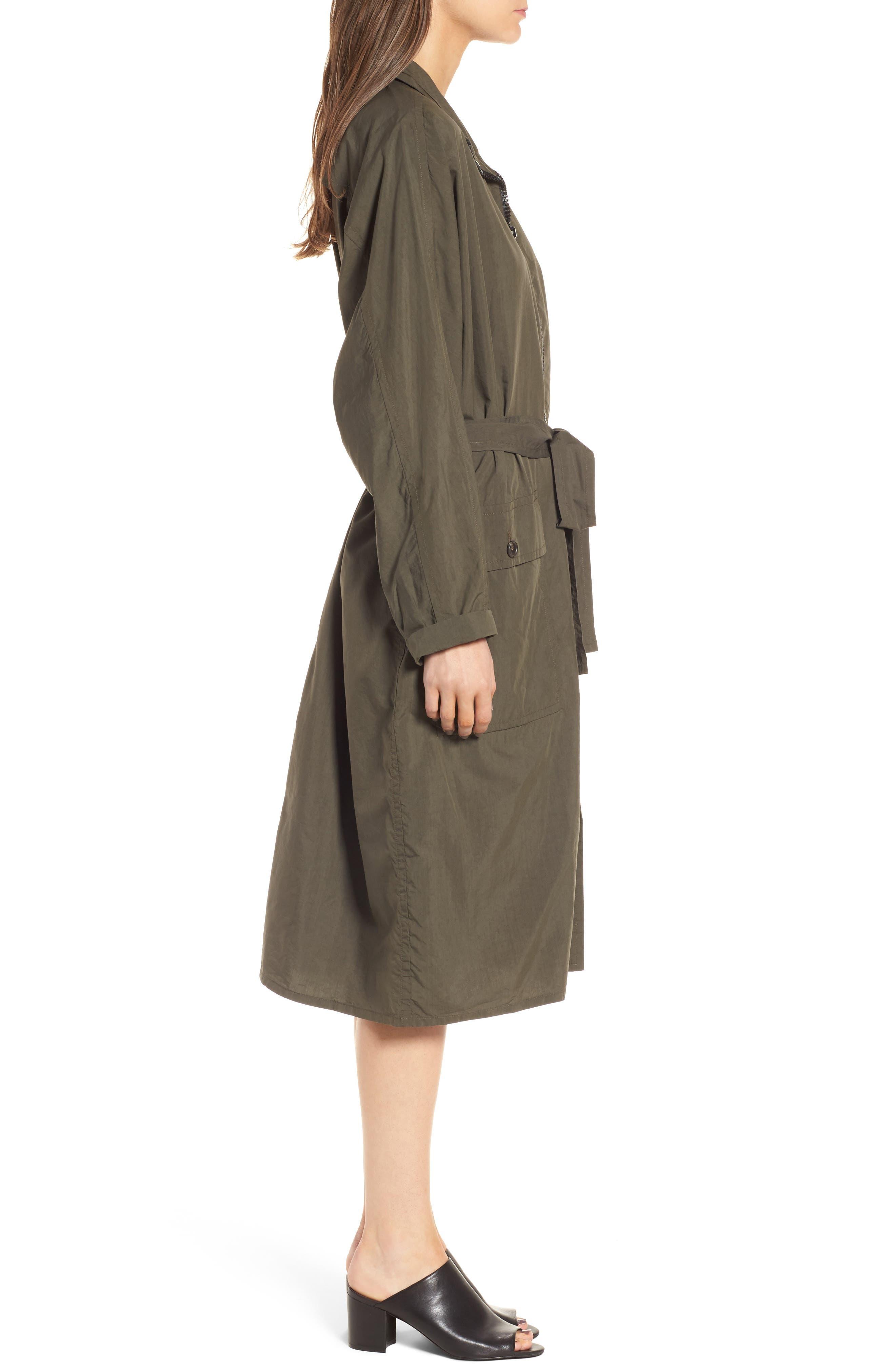 Alternate Image 3  - James Perse Zip Front Jacket Dress
