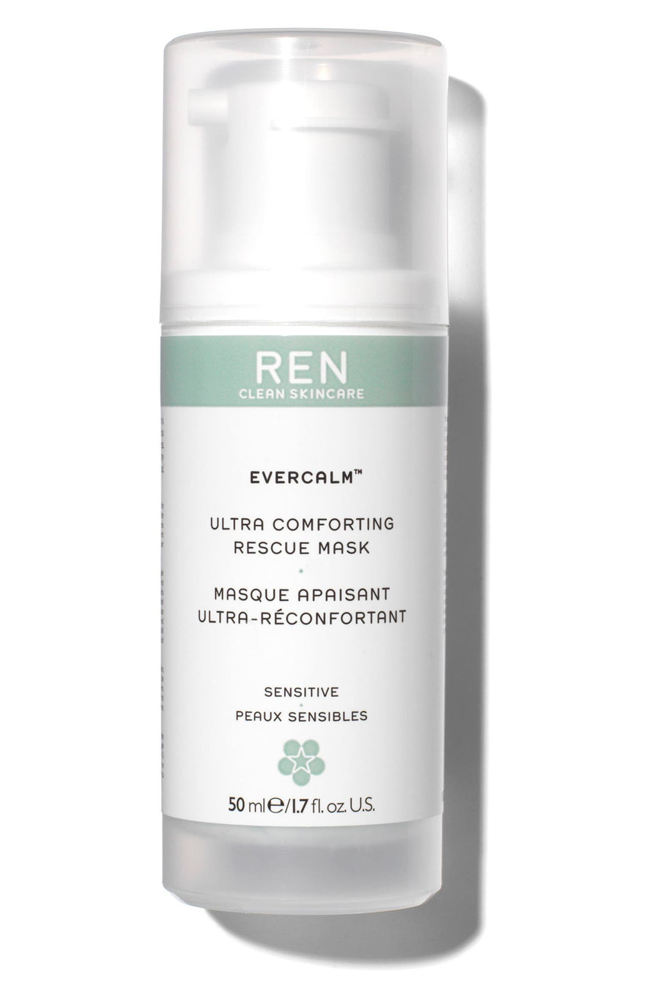 SPACE.NK.apothecary REN Evercalm<sup>™</sup> Rescue Mask,                         Main,                         color, No Color