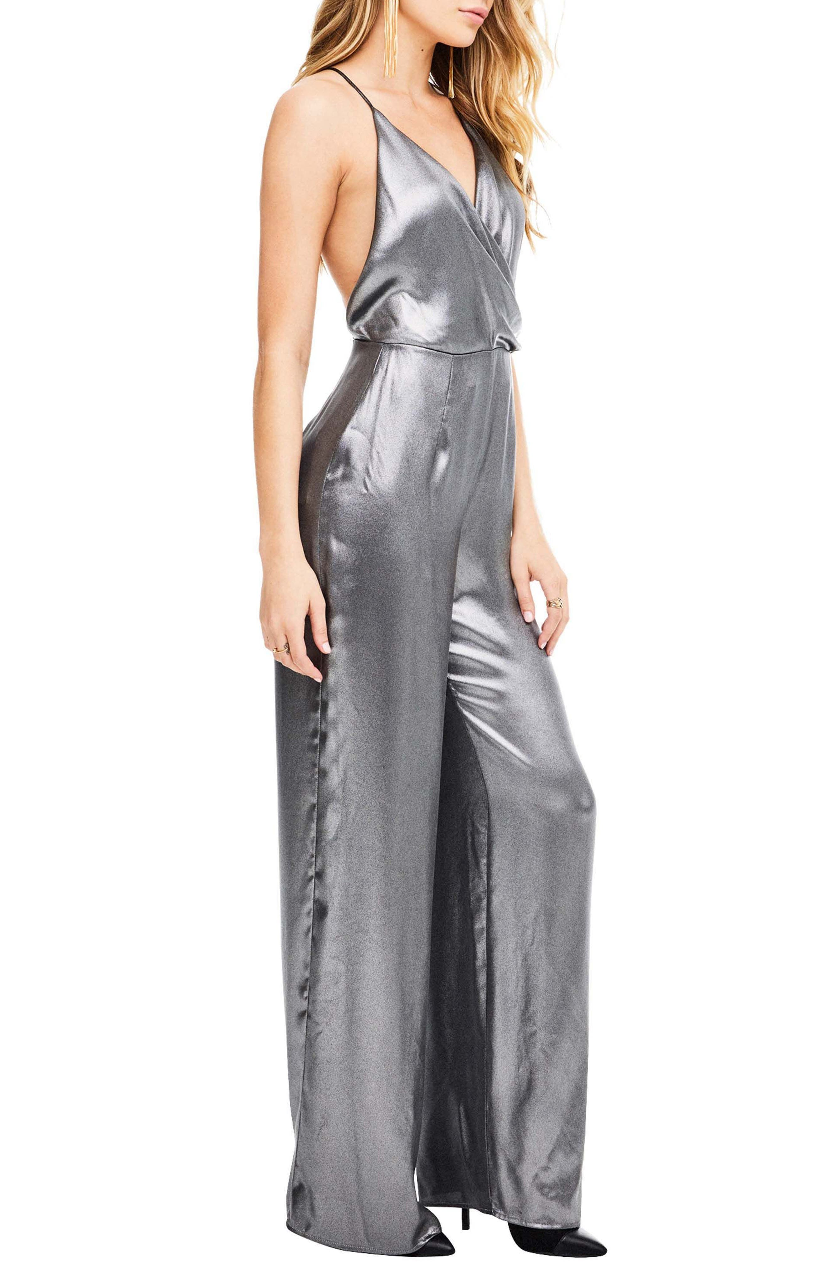 Winona Jumpsuit,                             Alternate thumbnail 3, color,                             Gunmetal