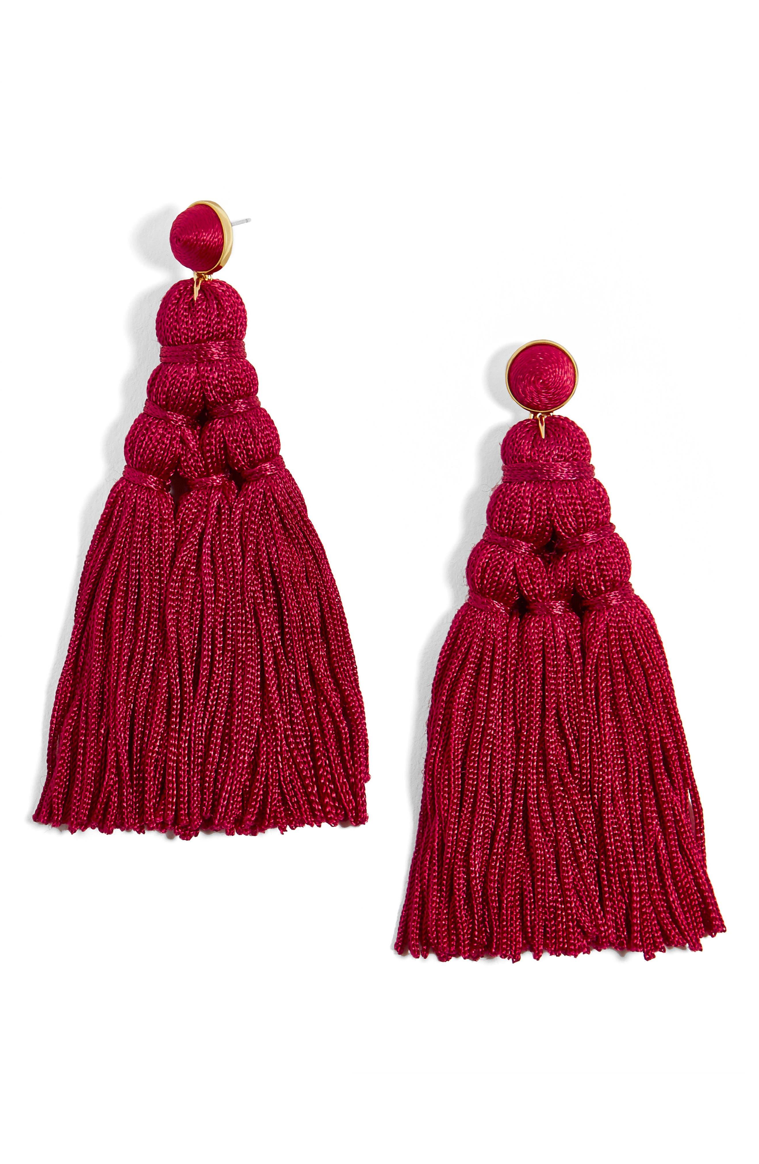 Main Image - BaubleBar Miana Tassel Drop Earrings
