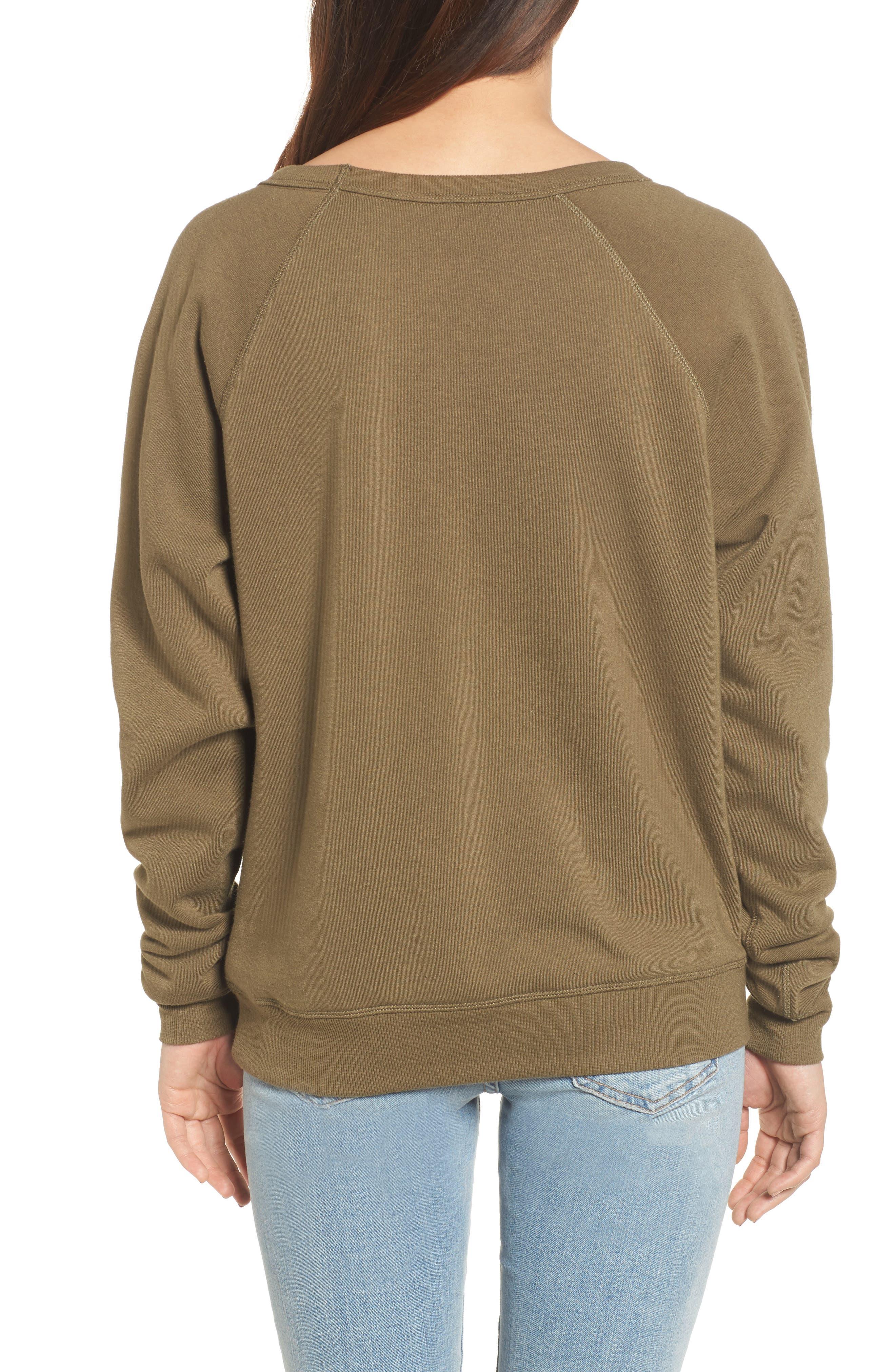 Alternate Image 2  - Rebecca Minkoff Graham Embellished Sweatshirt