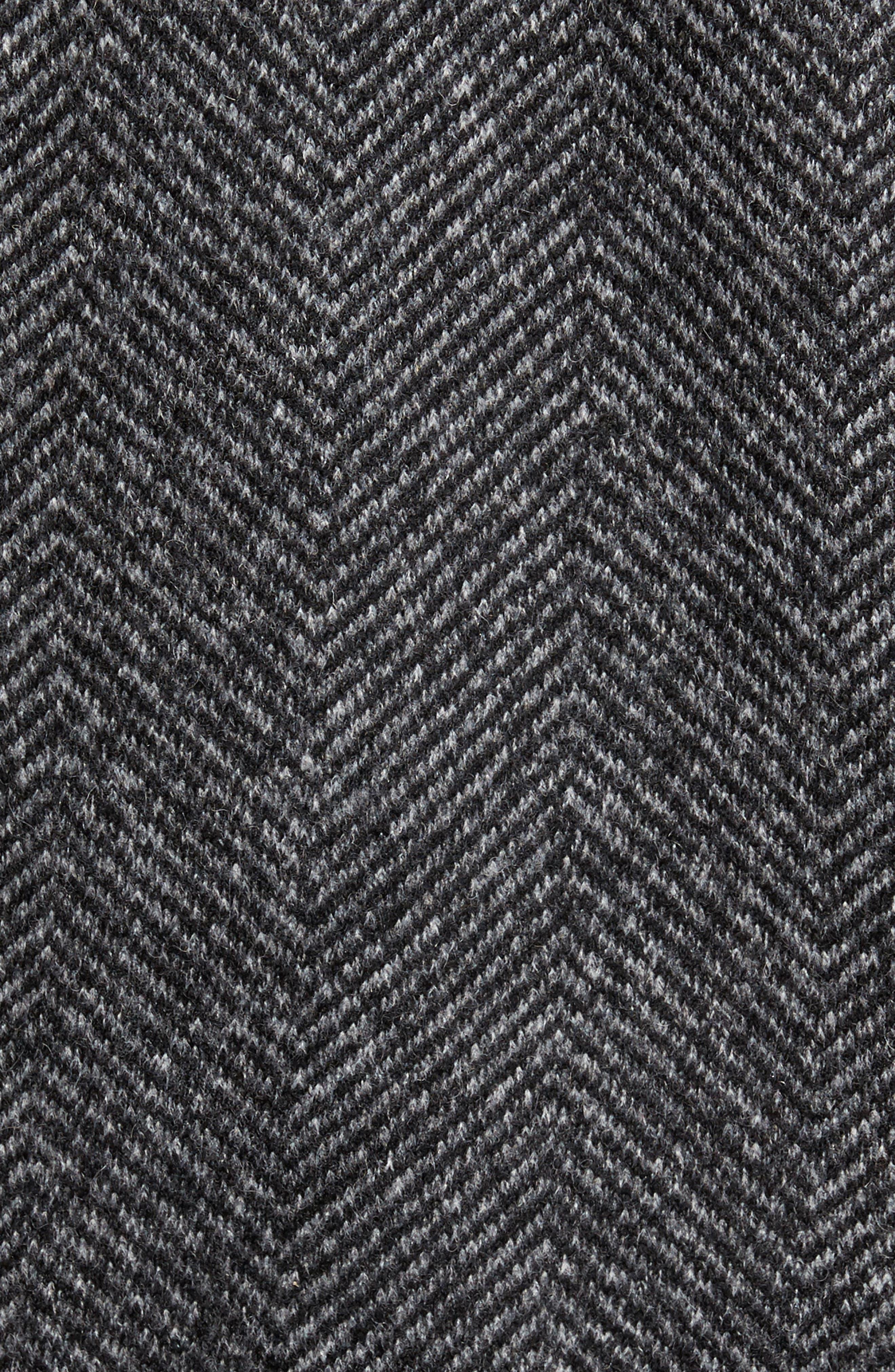 Alternate Image 5  - Ted Baker London Chelts Slim Fit Herringbone Overshirt