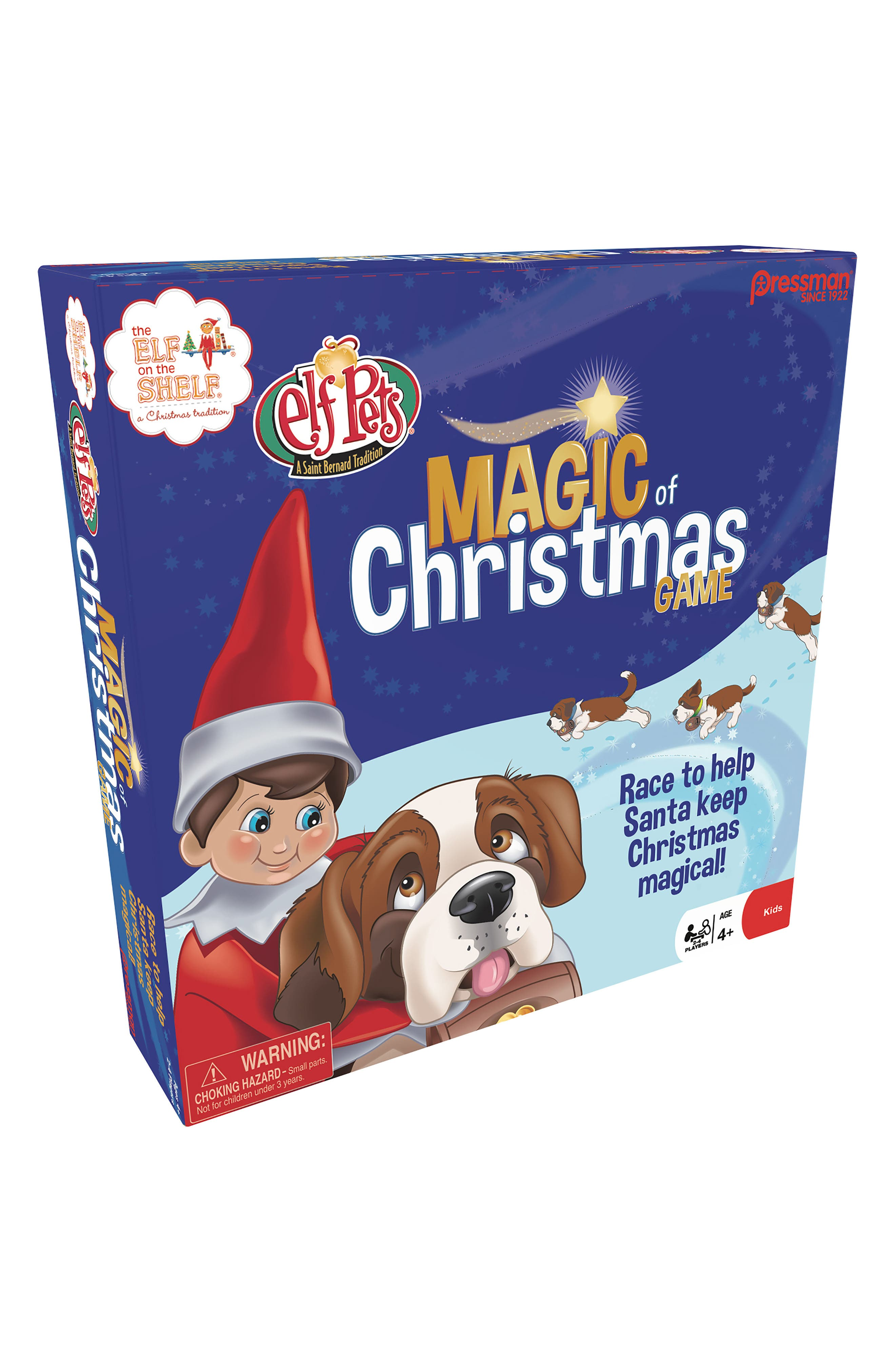 Pressman Toy Elf on the Shelf Magic of Christmas Memory Game