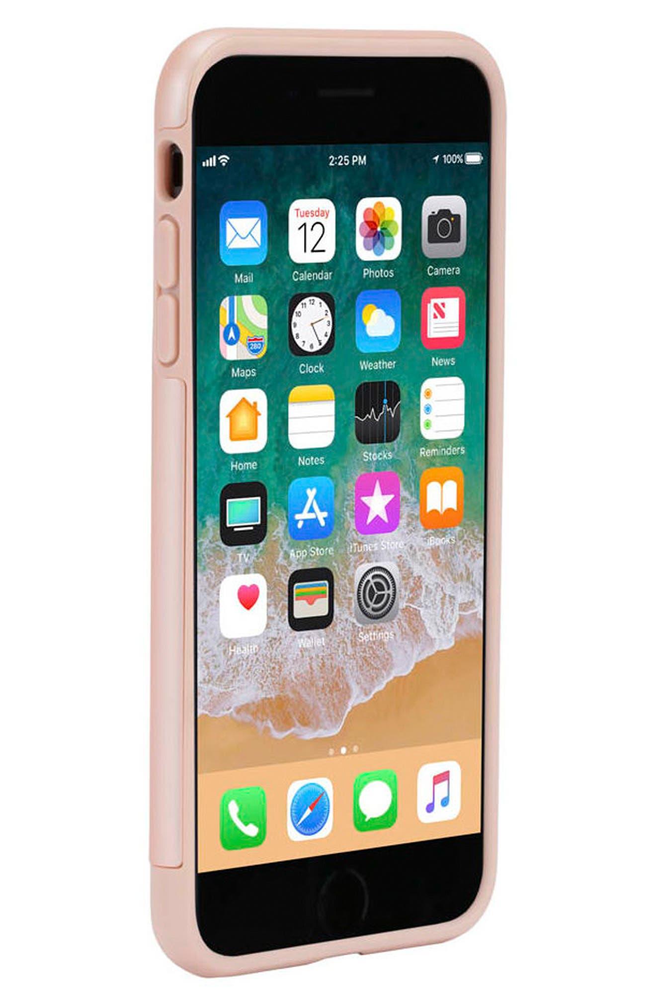 Dual Snap Case for iPhone 7 Plus/8 Plus,                             Alternate thumbnail 4, color,                             Rose Gold