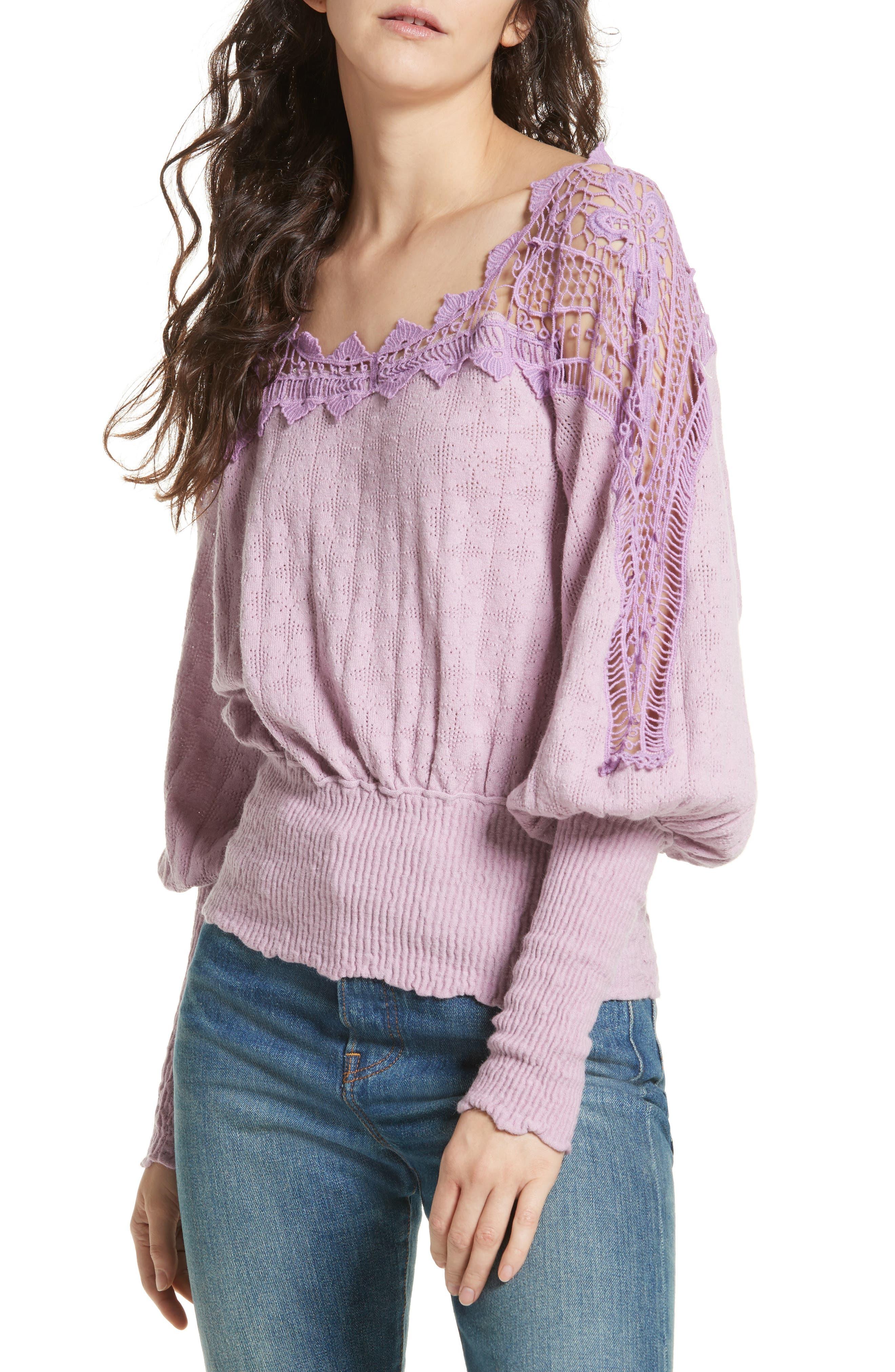 Alternate Image 4  - Free People Love Lace Sweater