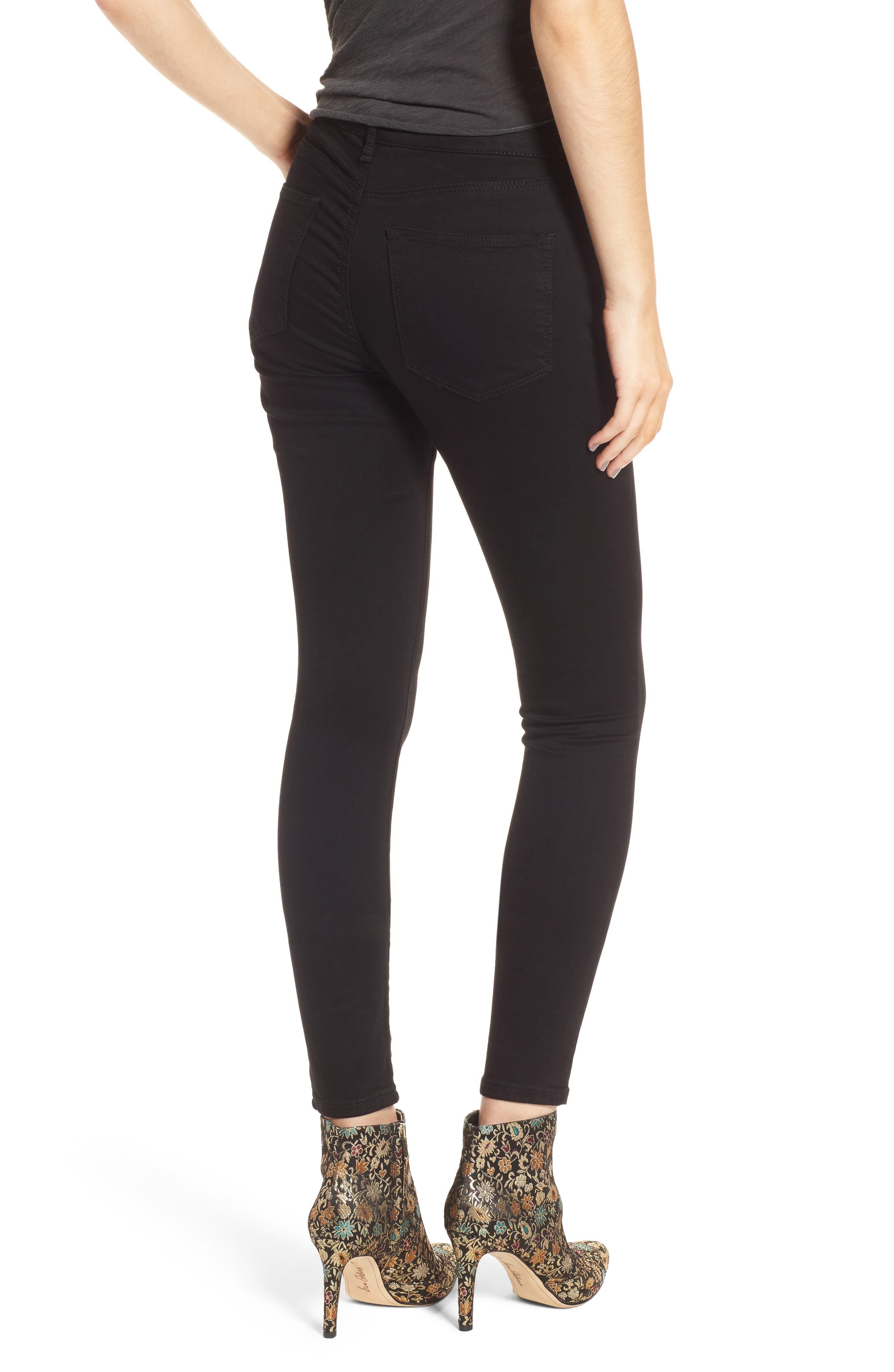 Alternate Image 2  - Topshop Leigh Ankle Skinny Jeans