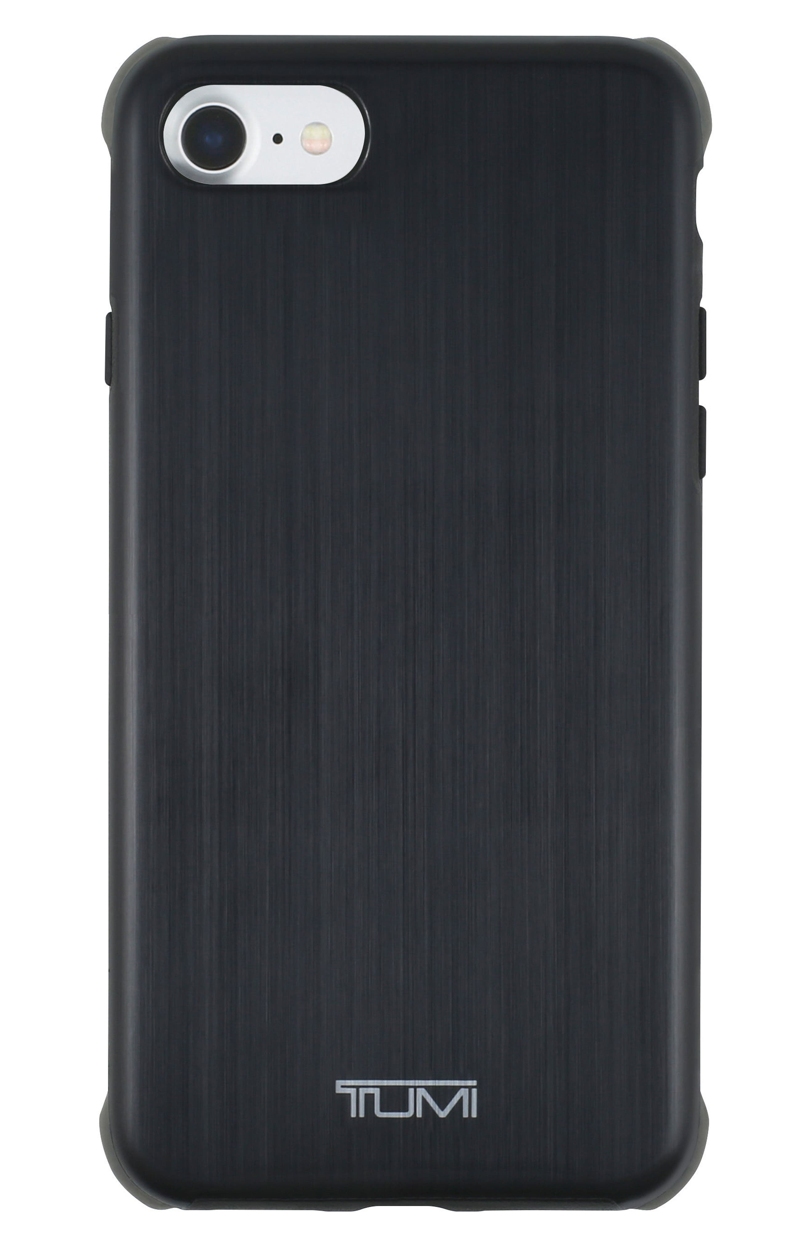 iPhone 8 Case,                             Main thumbnail 1, color,                             Matte Black/ Grey