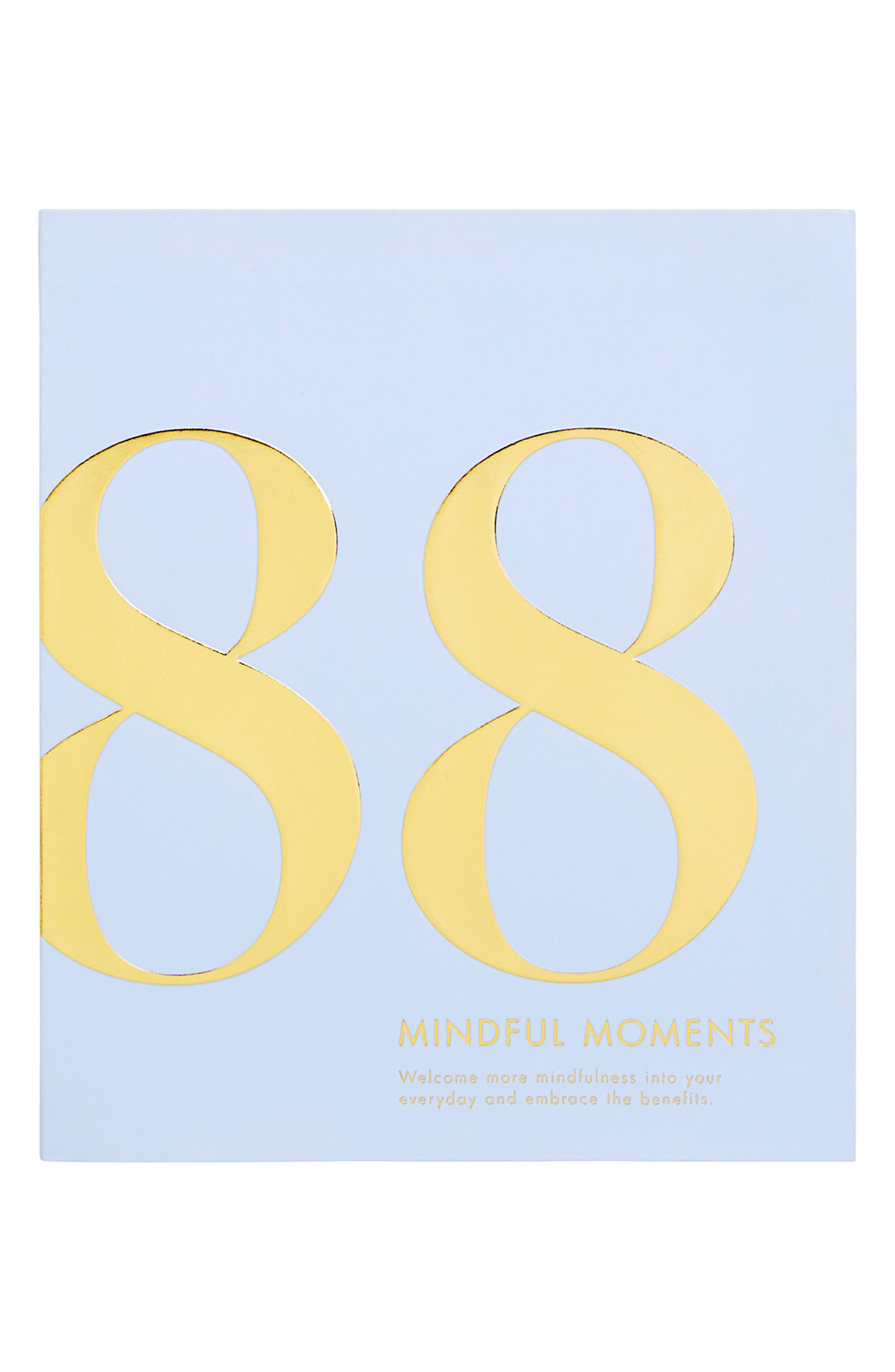 'Time is Now 88 Mindful Moments' Journal,                             Main thumbnail 1, color,                             Soft Blue