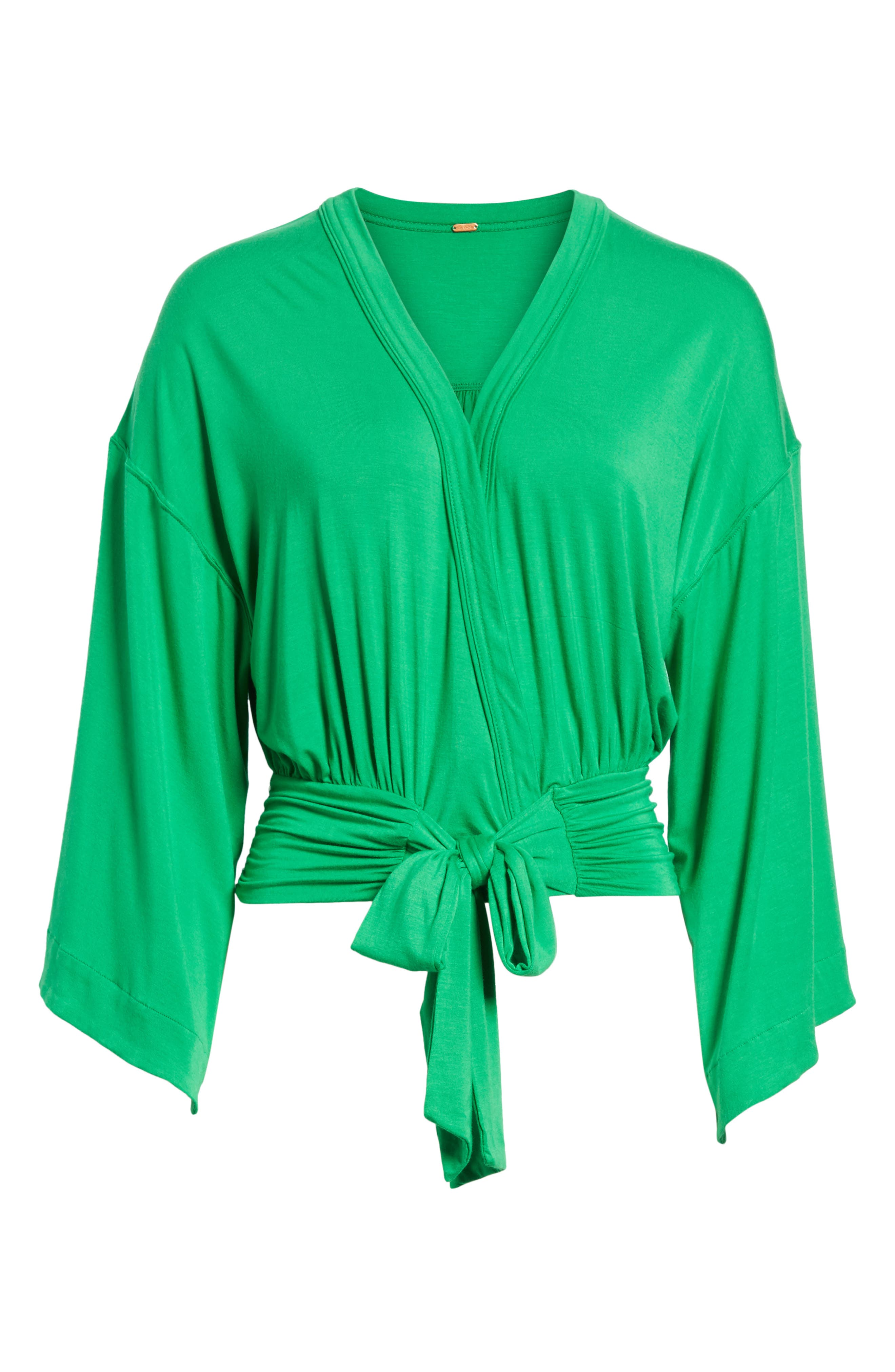 That's a Wrap Top,                             Alternate thumbnail 6, color,                             Green