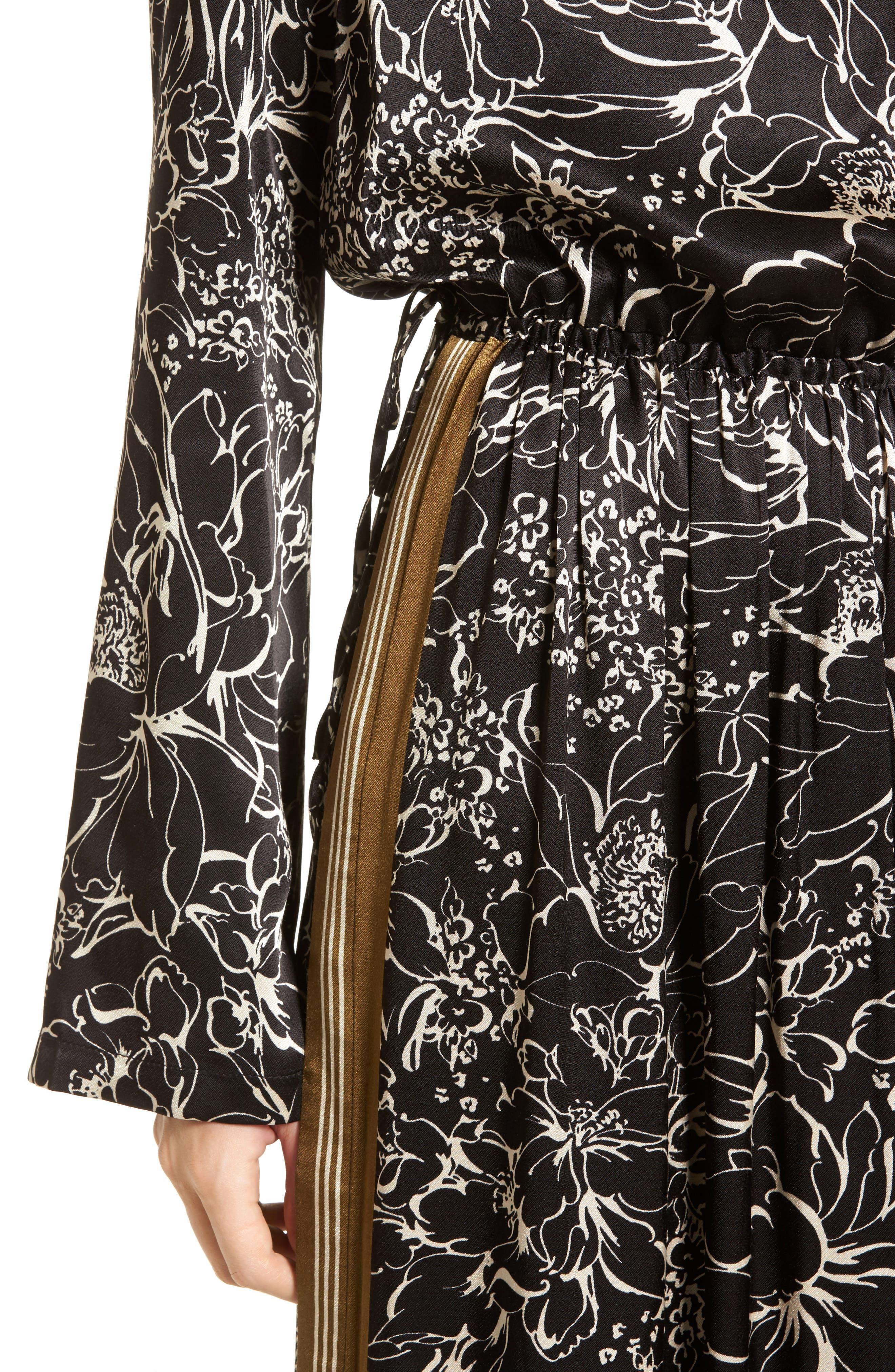 Alternate Image 4  - Treasure & Bond Blouson Print Dress