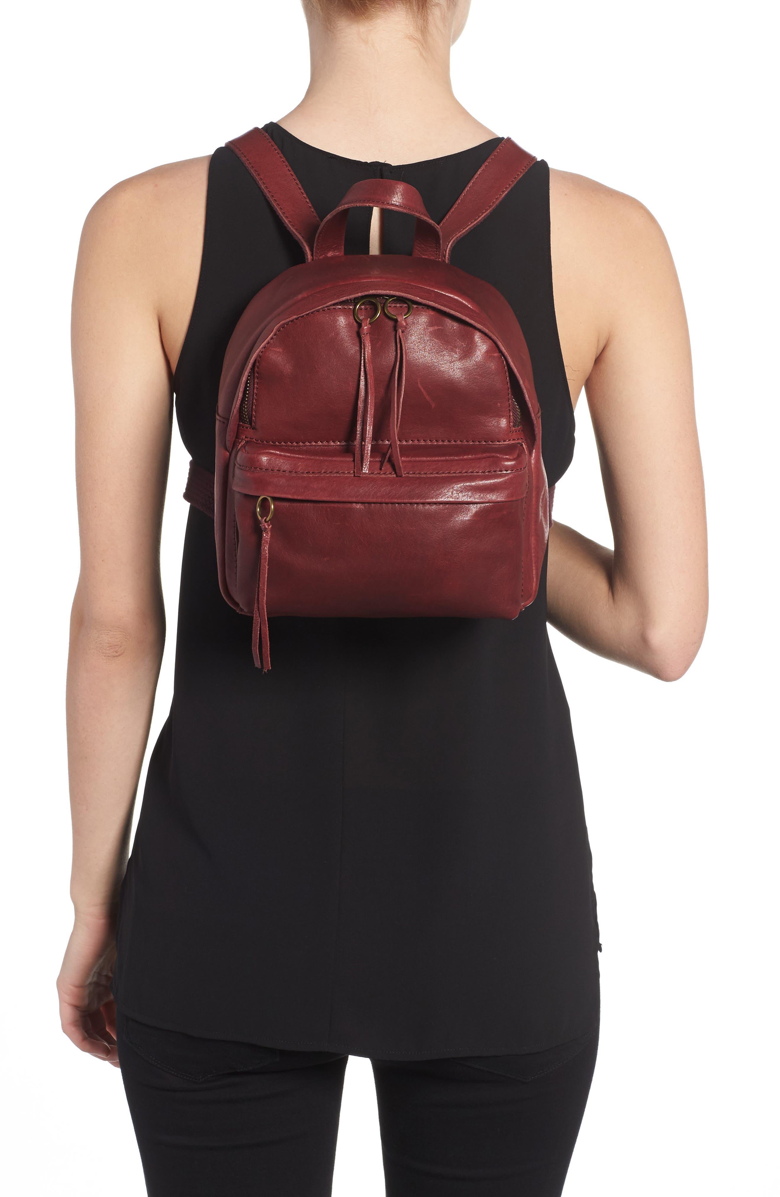 Alternate Image 2  - Madewell Mini Lorimer Leather Backpack