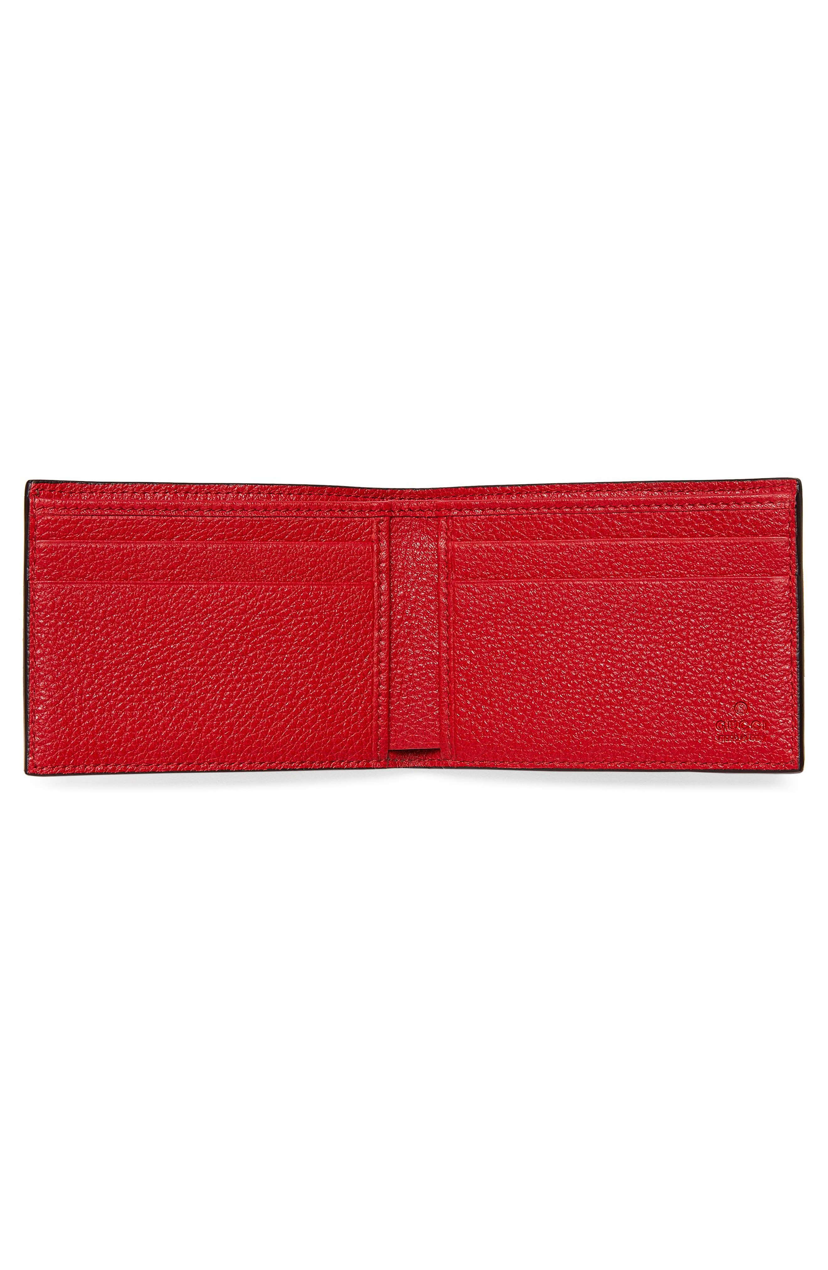 Wallet,                             Alternate thumbnail 2, color,                             Red