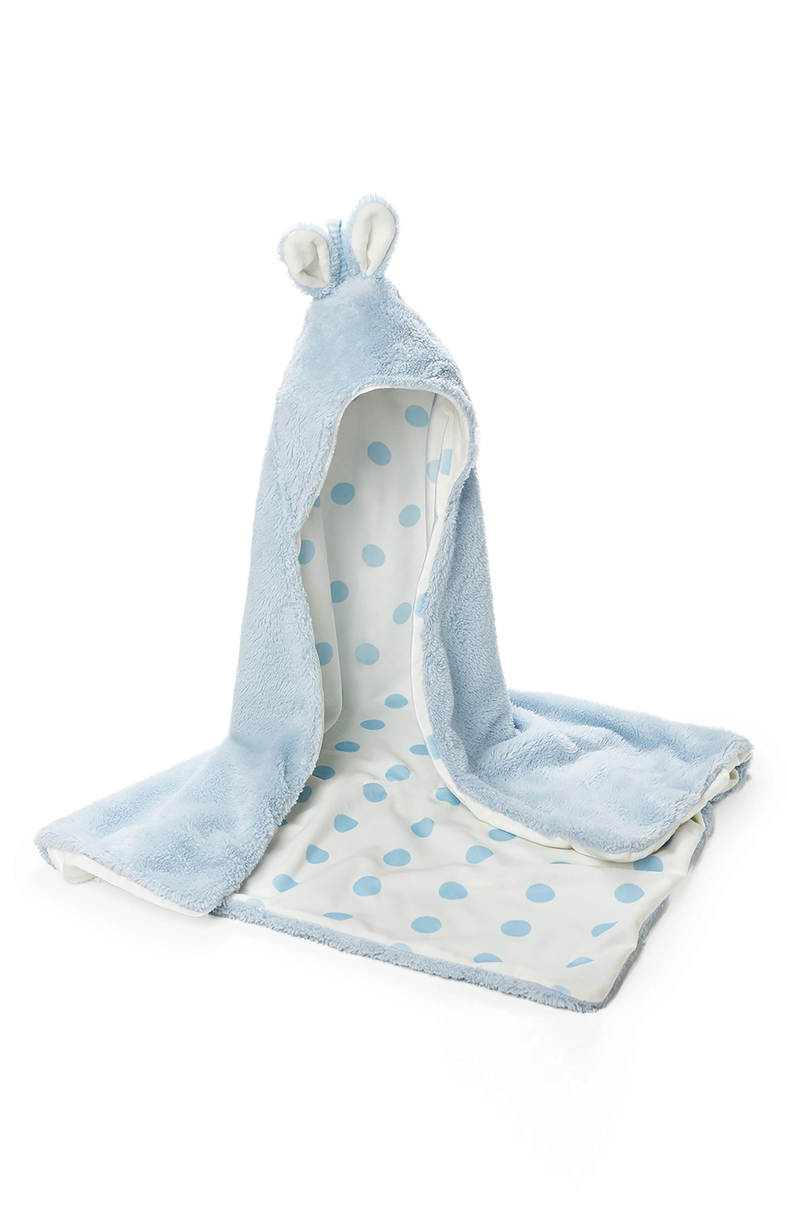 Alternate Image 1 Selected - Bunnies By The Bay Bunny Hooded Blanket