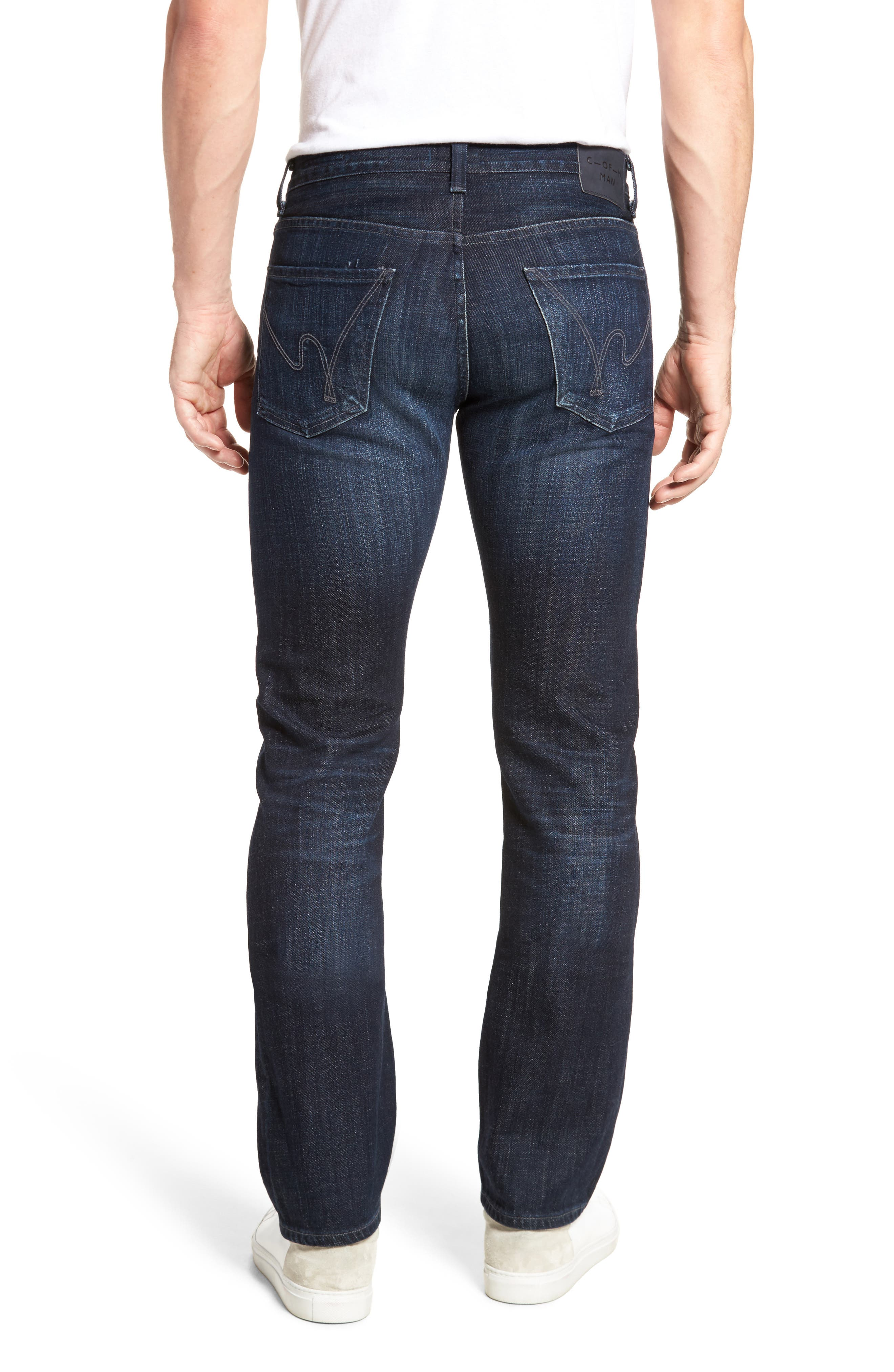 Sid Straight Leg Jeans,                             Alternate thumbnail 2, color,                             Pierson