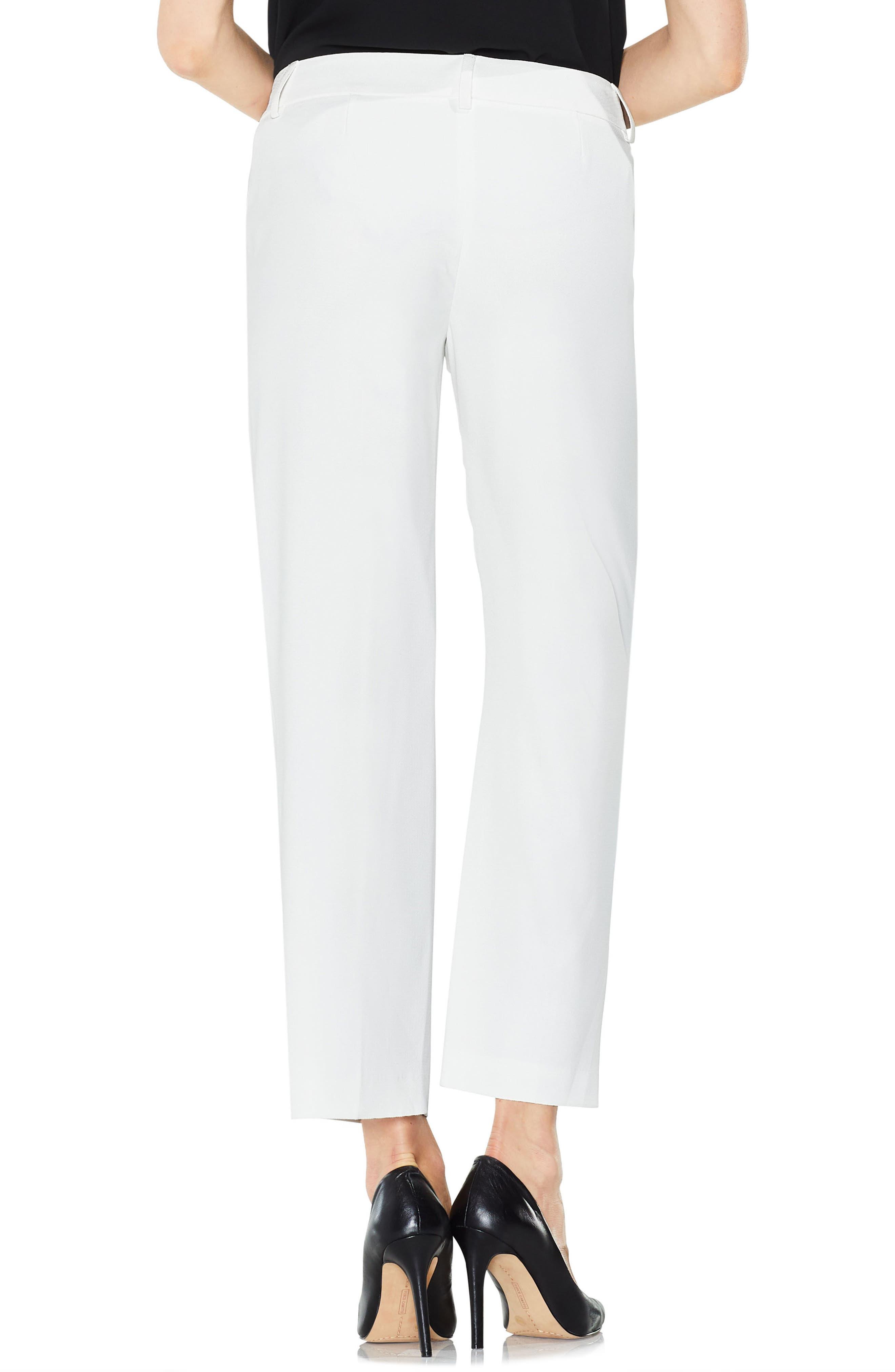 Straight Leg Pants,                             Alternate thumbnail 2, color,                             New Ivory