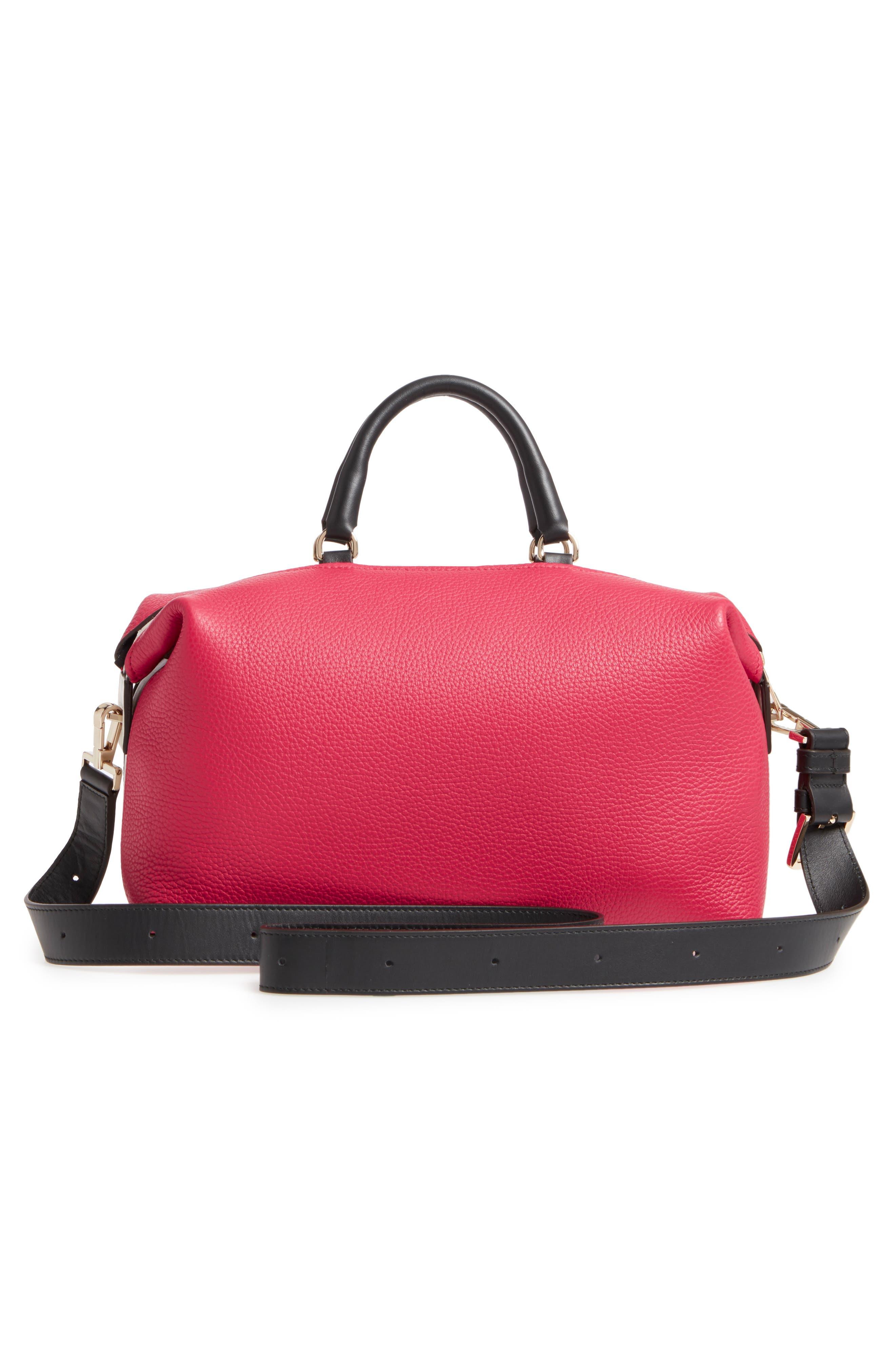 Alternate Image 3  - Furla Blogger Colorblock Leather Satchel