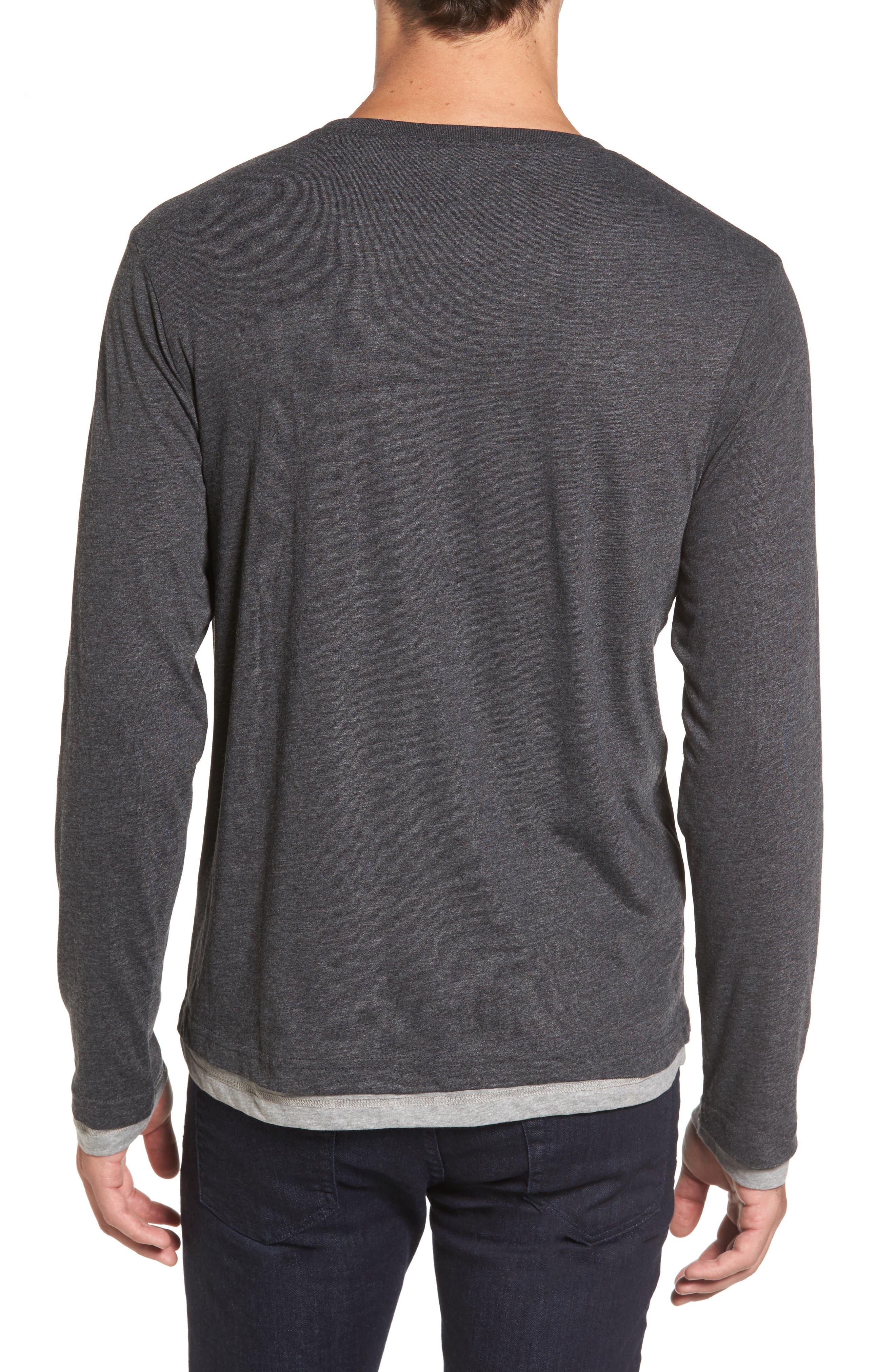 Alternate Image 2  - Tailor Vintage Reversible T-Shirt