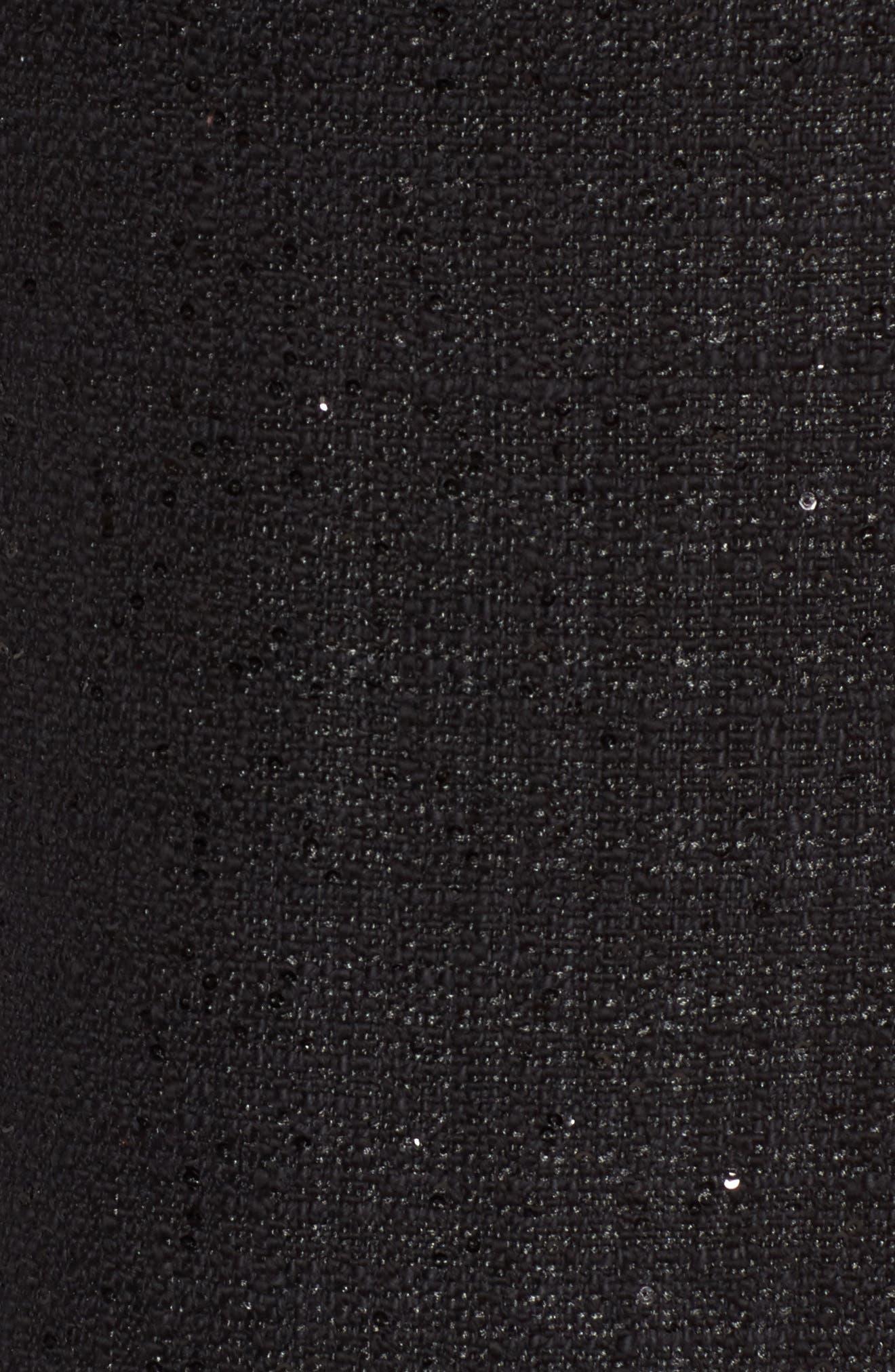Alternate Image 5  - Anne Klein New York Sequin Tweed Sheath Dress