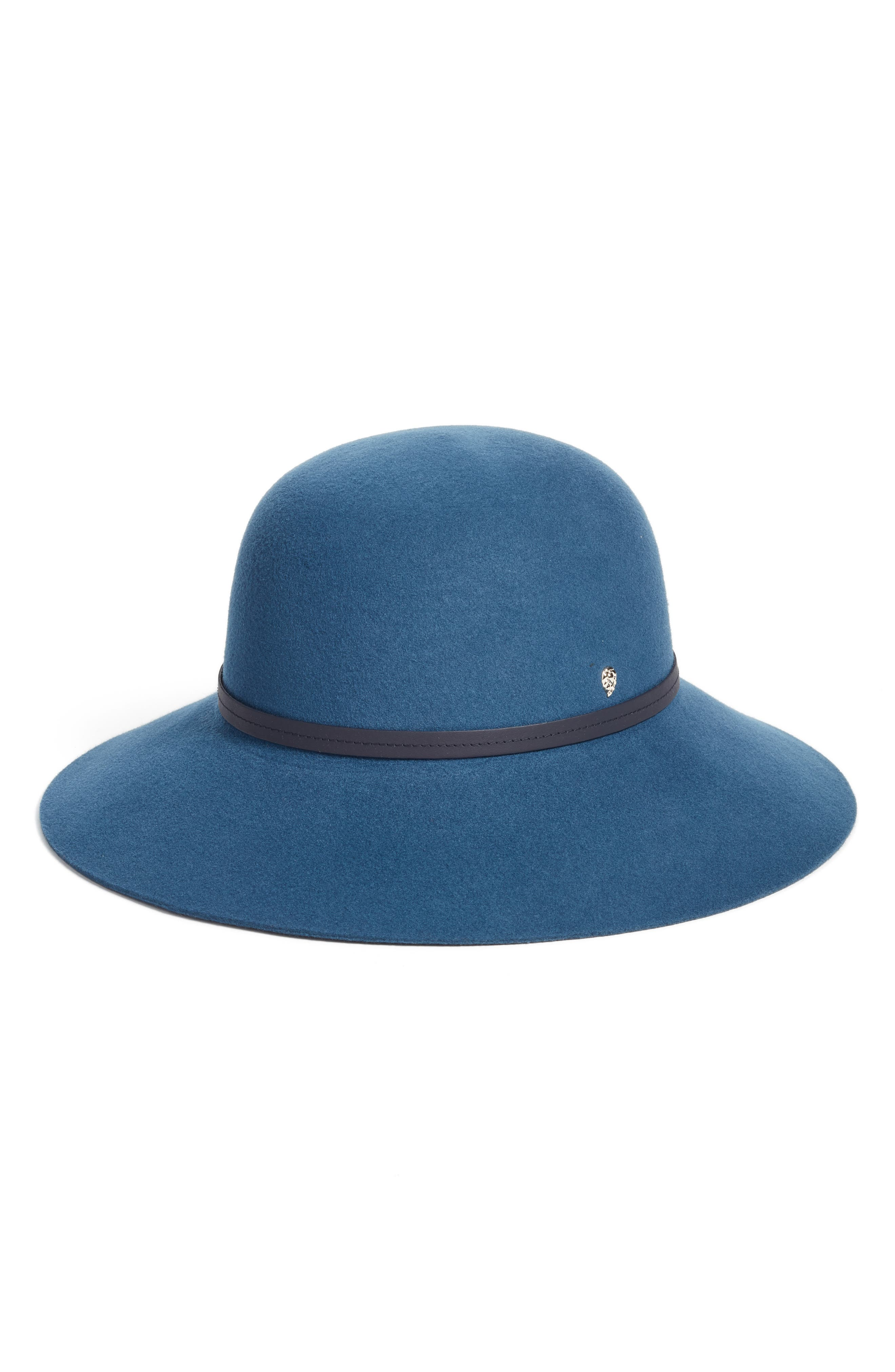 Helen Kaminski Angled Brim Wool Felt Hat