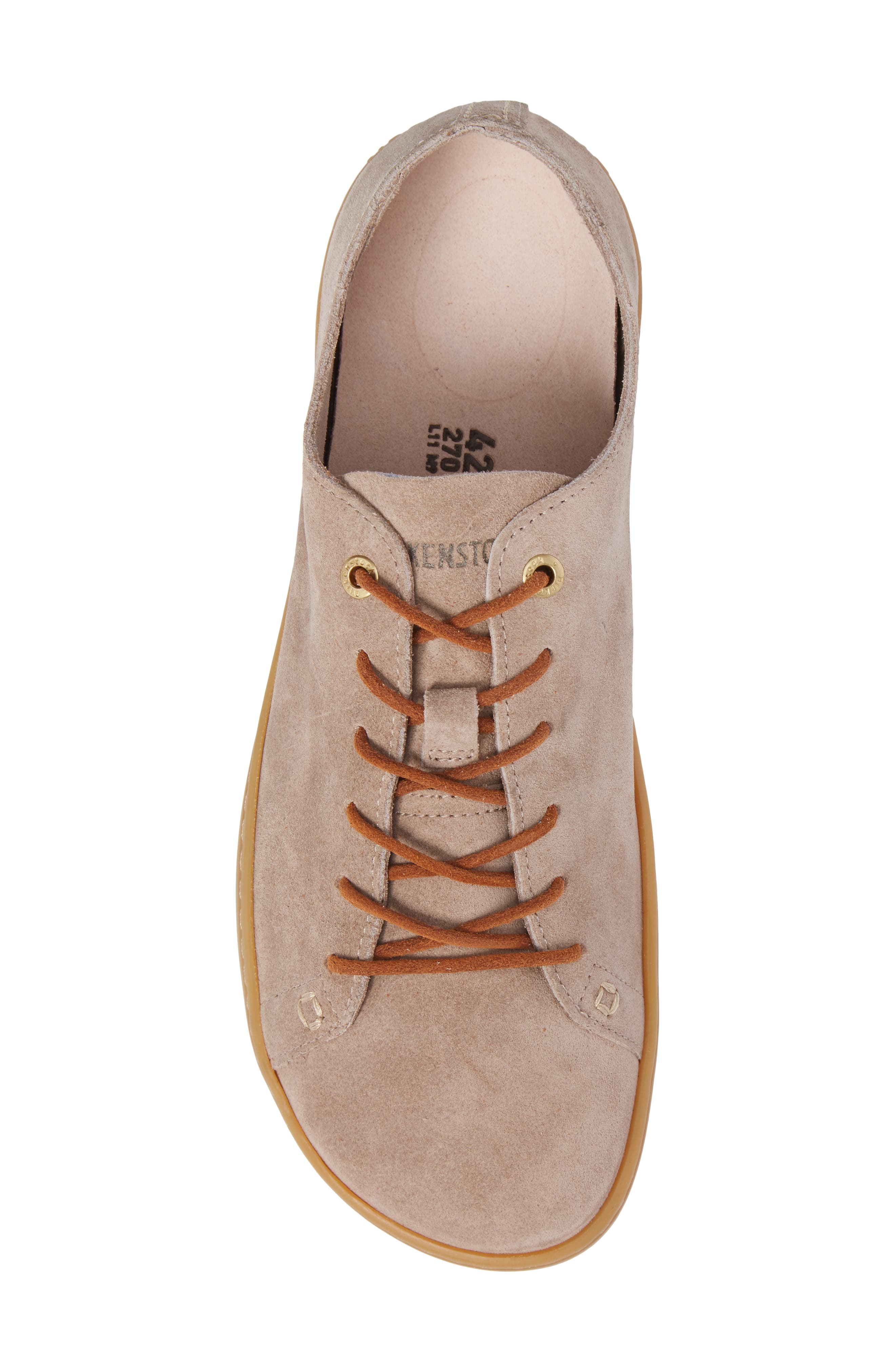 Arran Sneaker,                             Alternate thumbnail 5, color,                             Taupe Suede