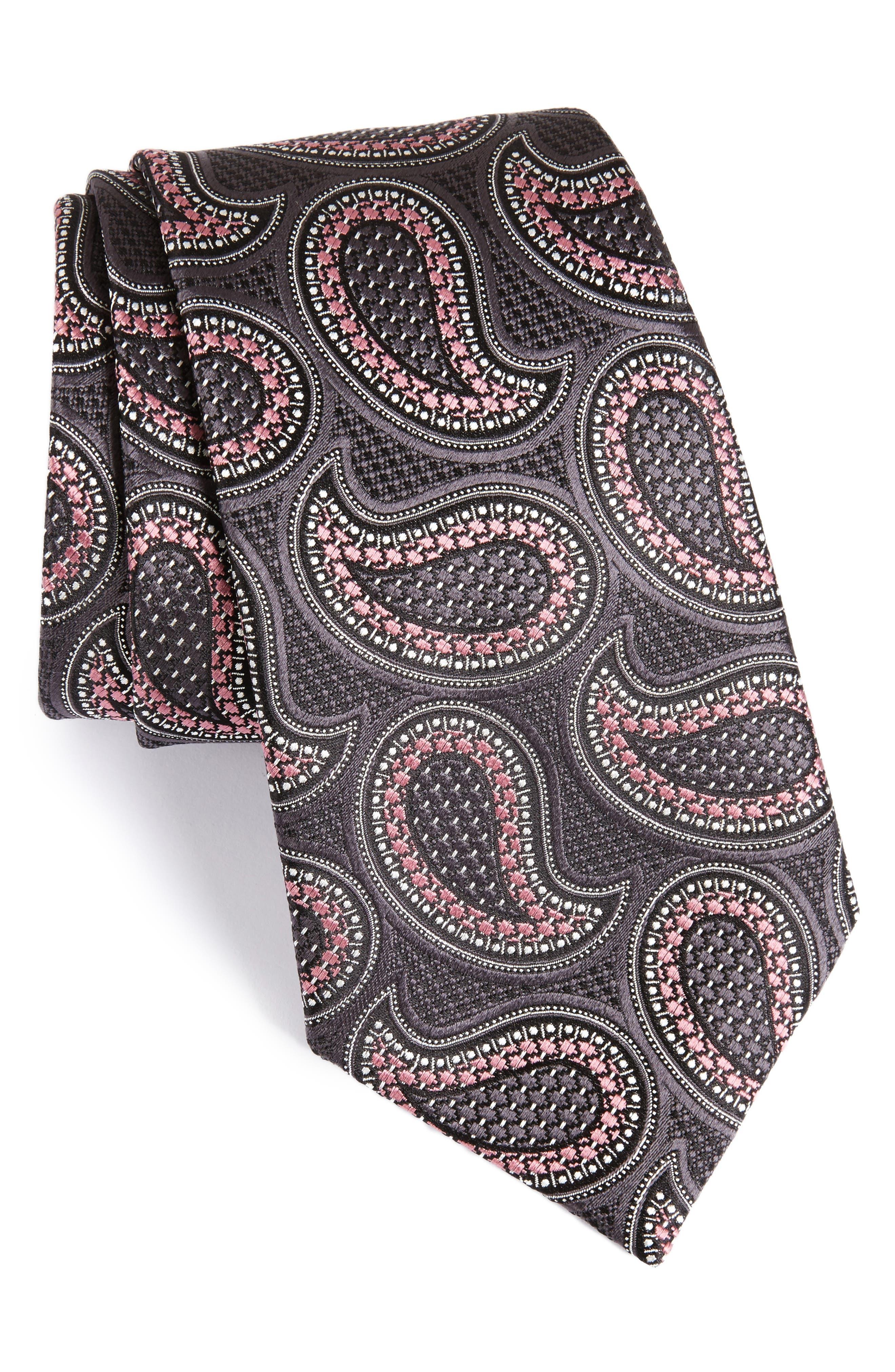 Ermenegilda Zegna Paisley Silk Tie