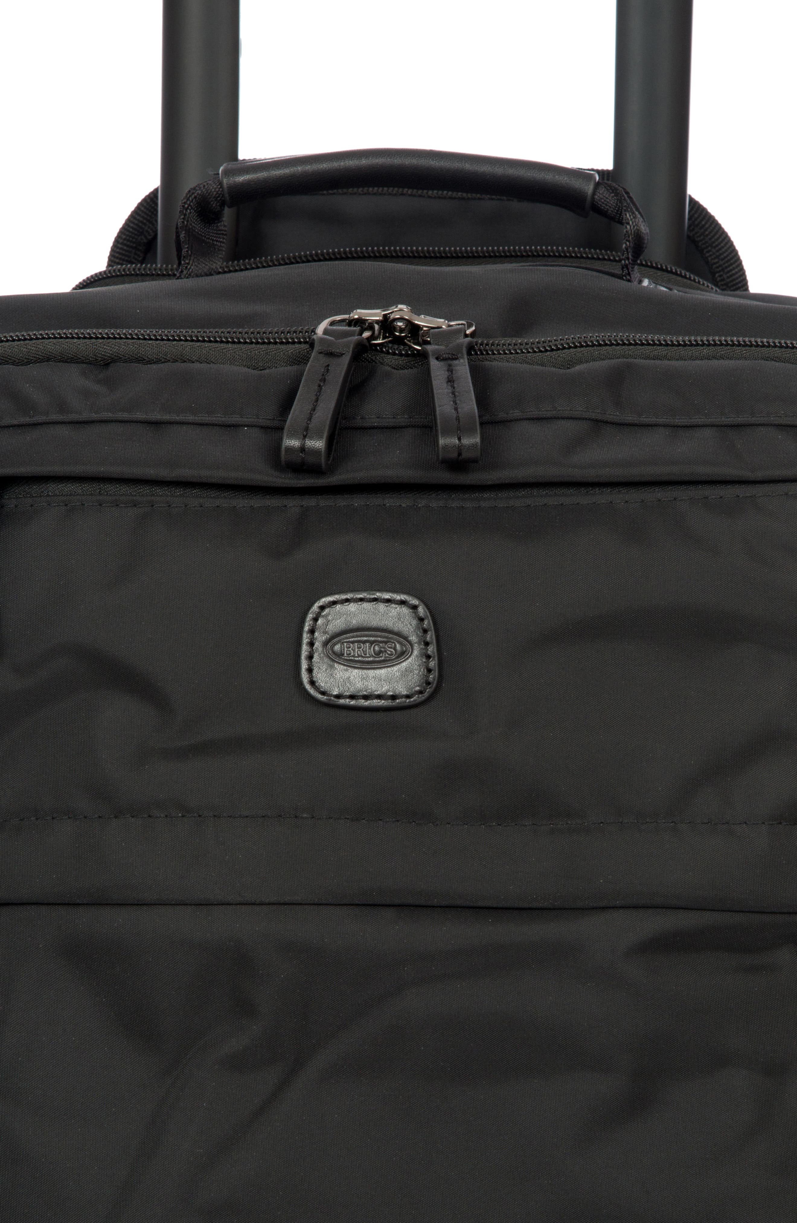 X-Bag 21-Inch Spinner Carry-On,                             Alternate thumbnail 5, color,                             Black/ Black