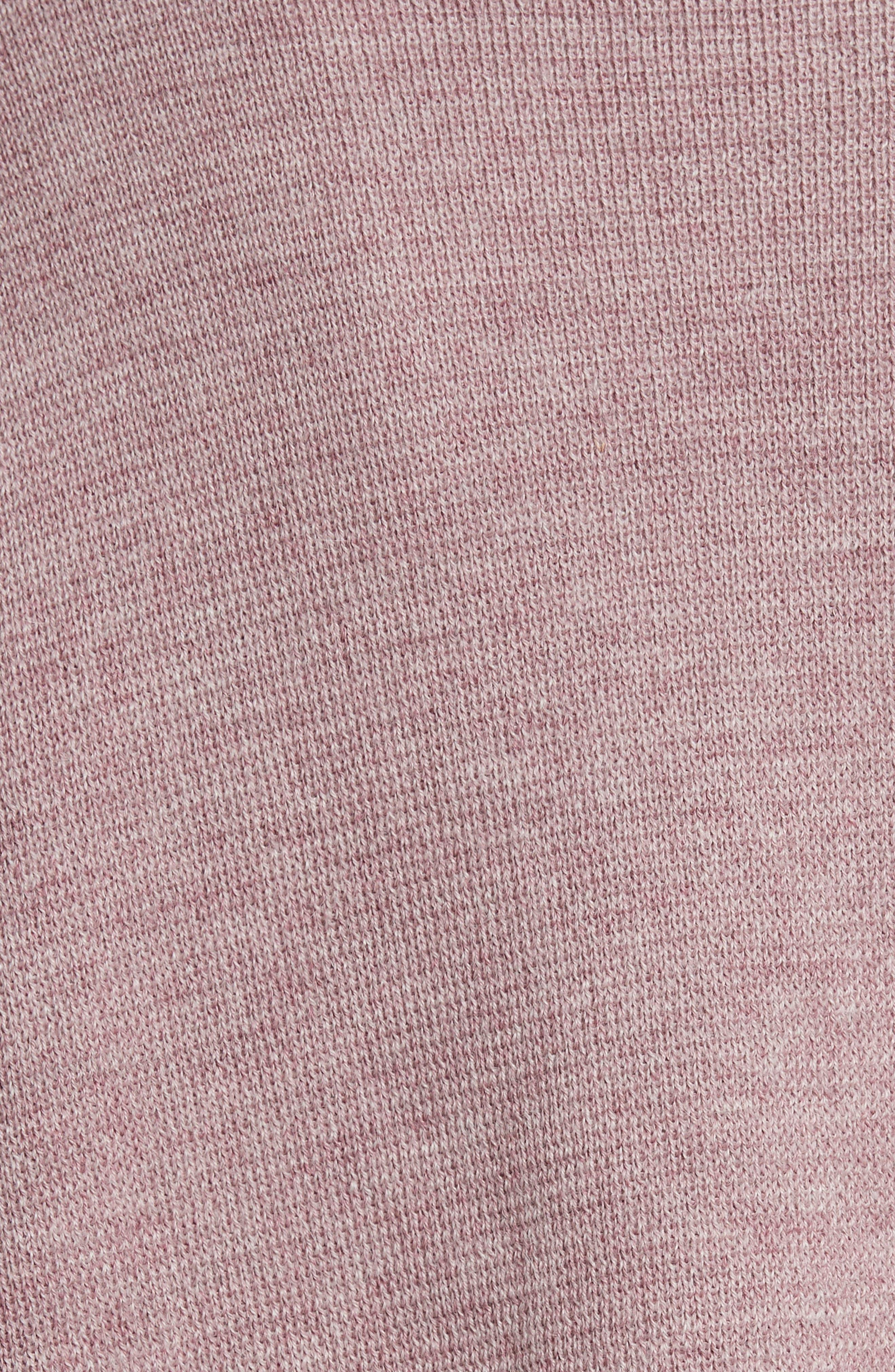 Fount Alpaca Hair Sweater,                             Alternate thumbnail 5, color,                             Lilac