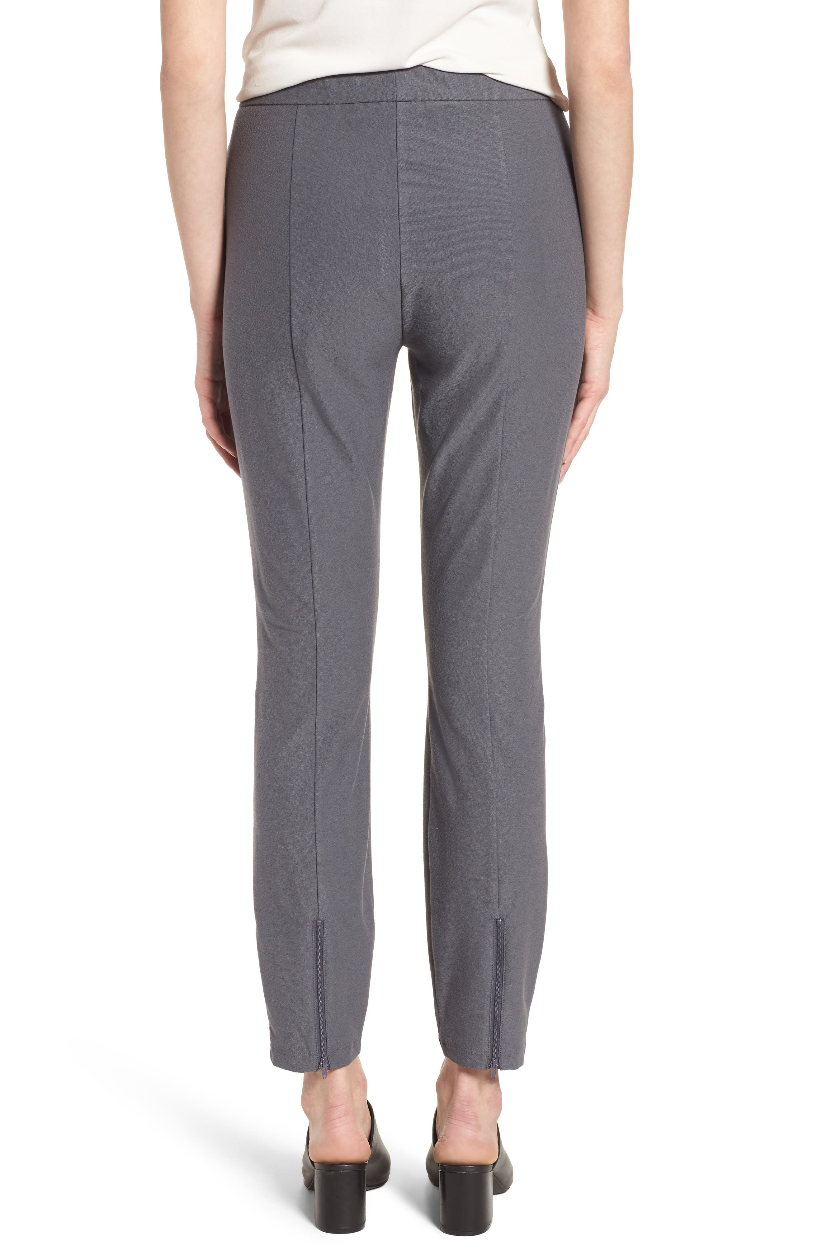 Slim Knit Pants,                             Alternate thumbnail 2, color,                             Ash