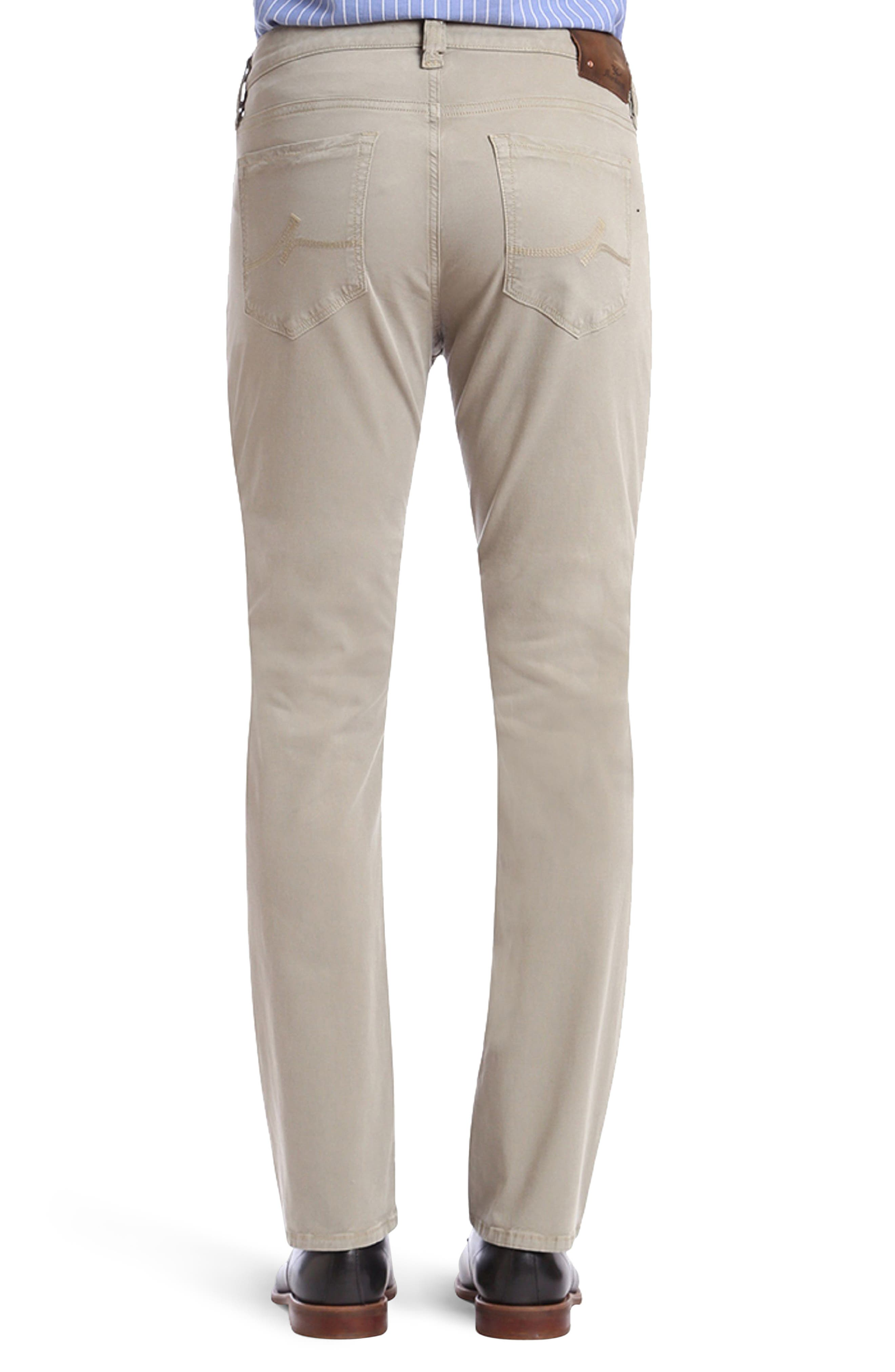 Courage Straight Fit Twill Pants,                             Alternate thumbnail 2, color,                             Khaki Fine Twill