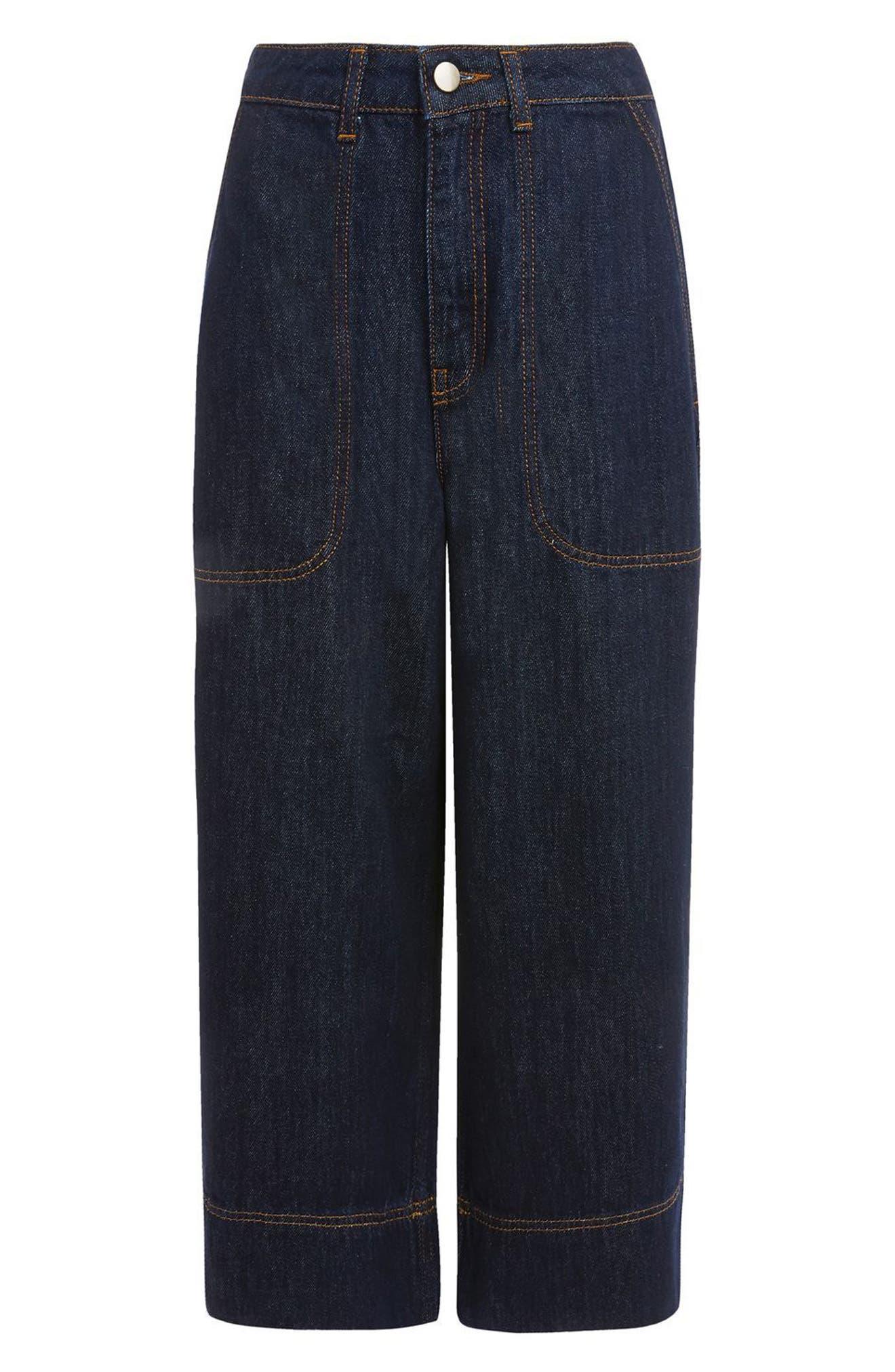 Topshop Boutique Culotte Jeans