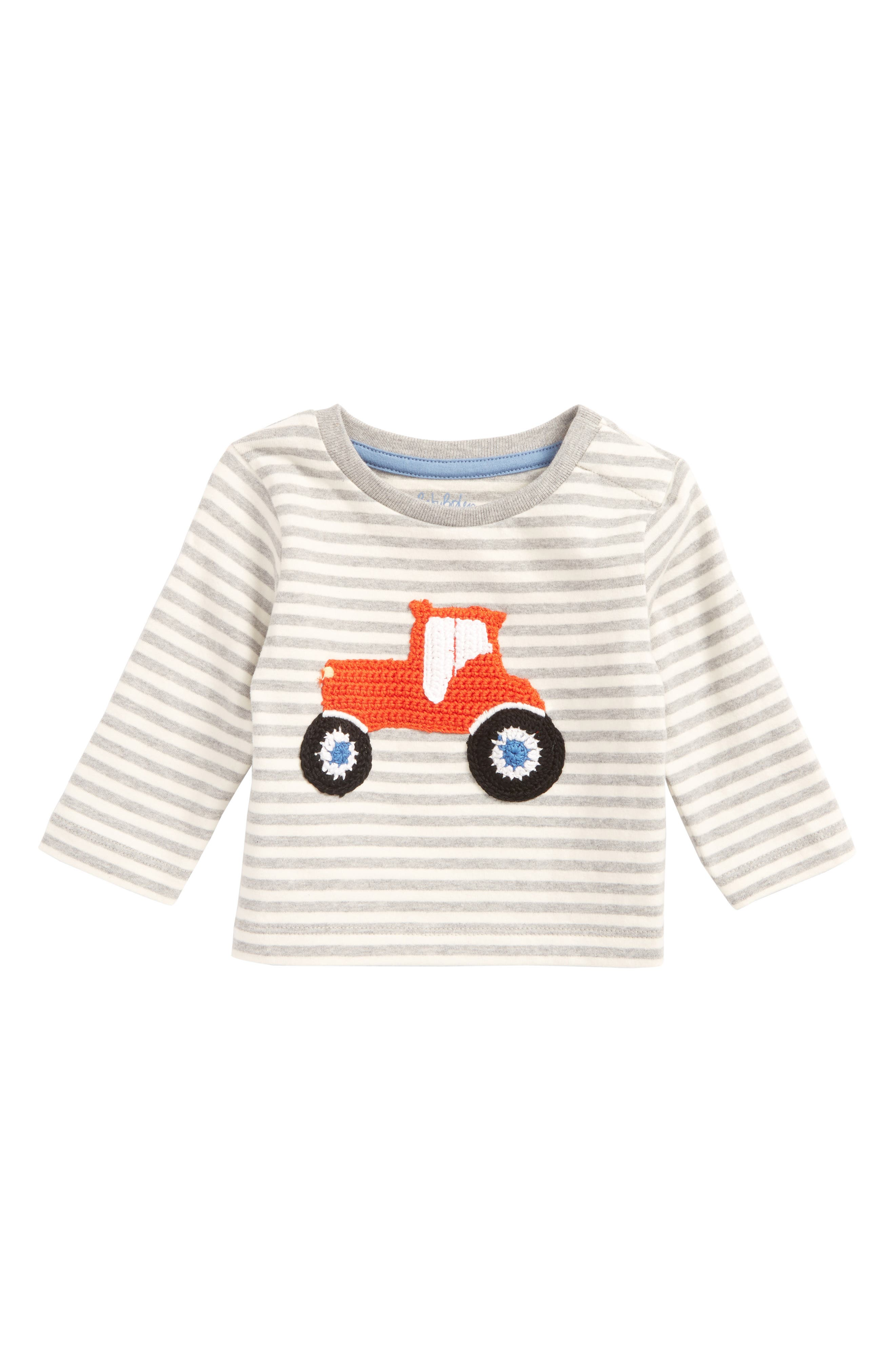 Mini Boden Fun Crochet T-Shirt (Baby Boys & Toddler Boys)