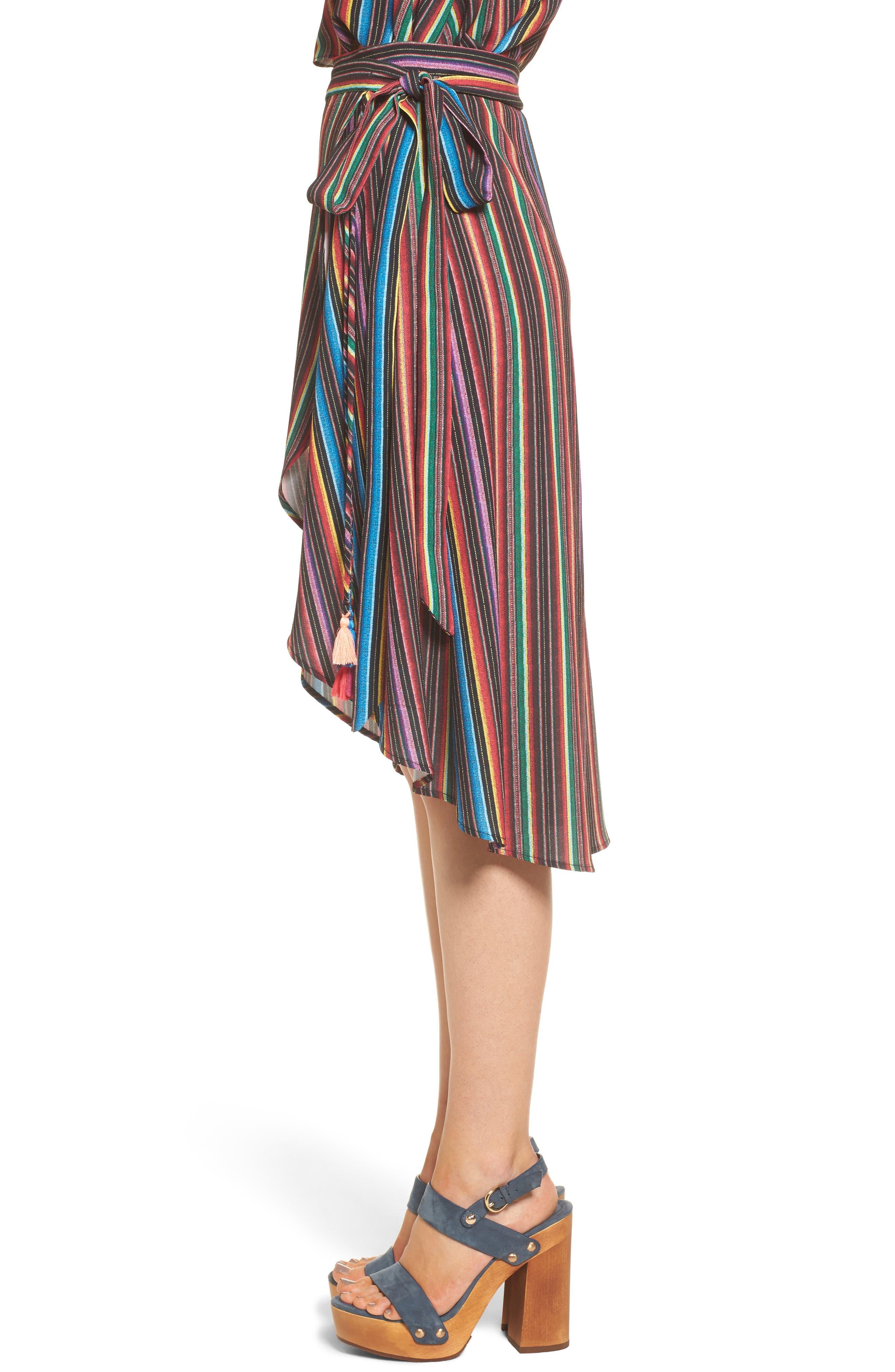 Alternate Image 4  - Show Me Your Mumu Panama Tassel Wrap Skirt