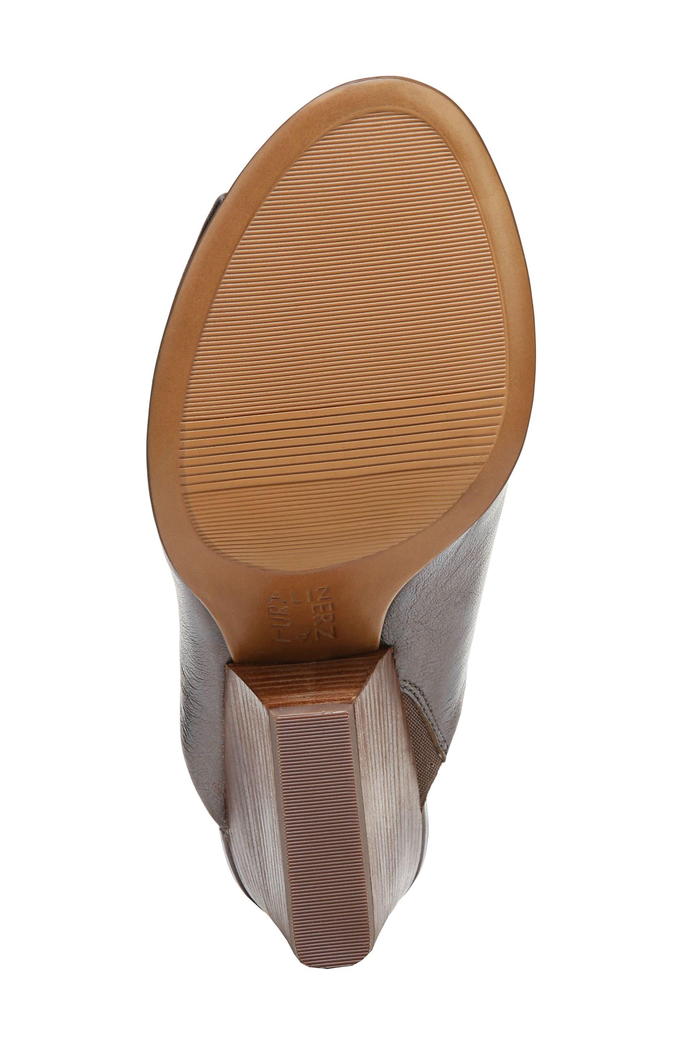 Sloan Sandal,                             Alternate thumbnail 6, color,                             Gunmetal Leather