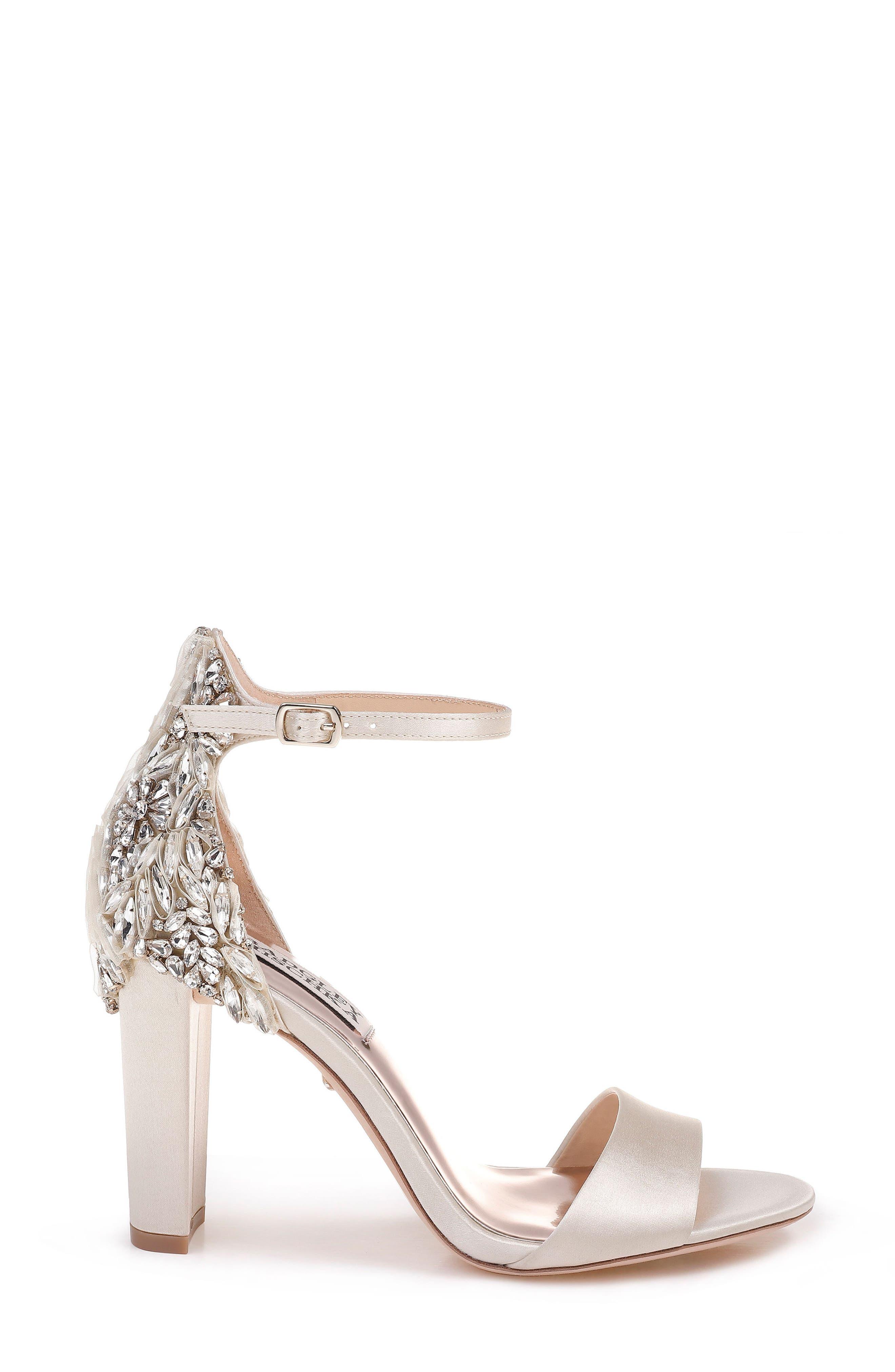 Alternate Image 3  - Badgley Mischka Seina Ankle Strap Sandal (Women)