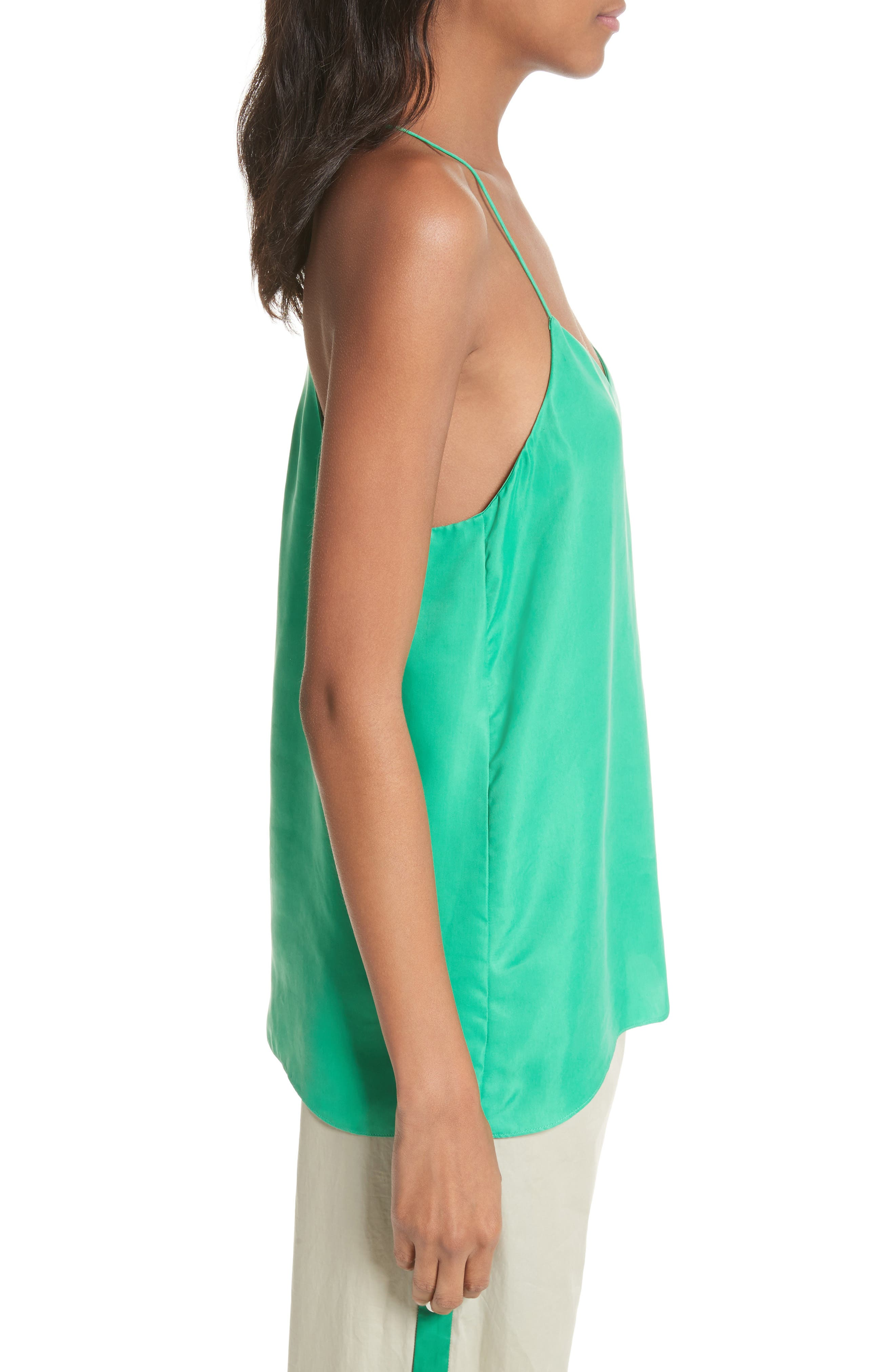 Racerback Camisole,                             Alternate thumbnail 3, color,                             Green
