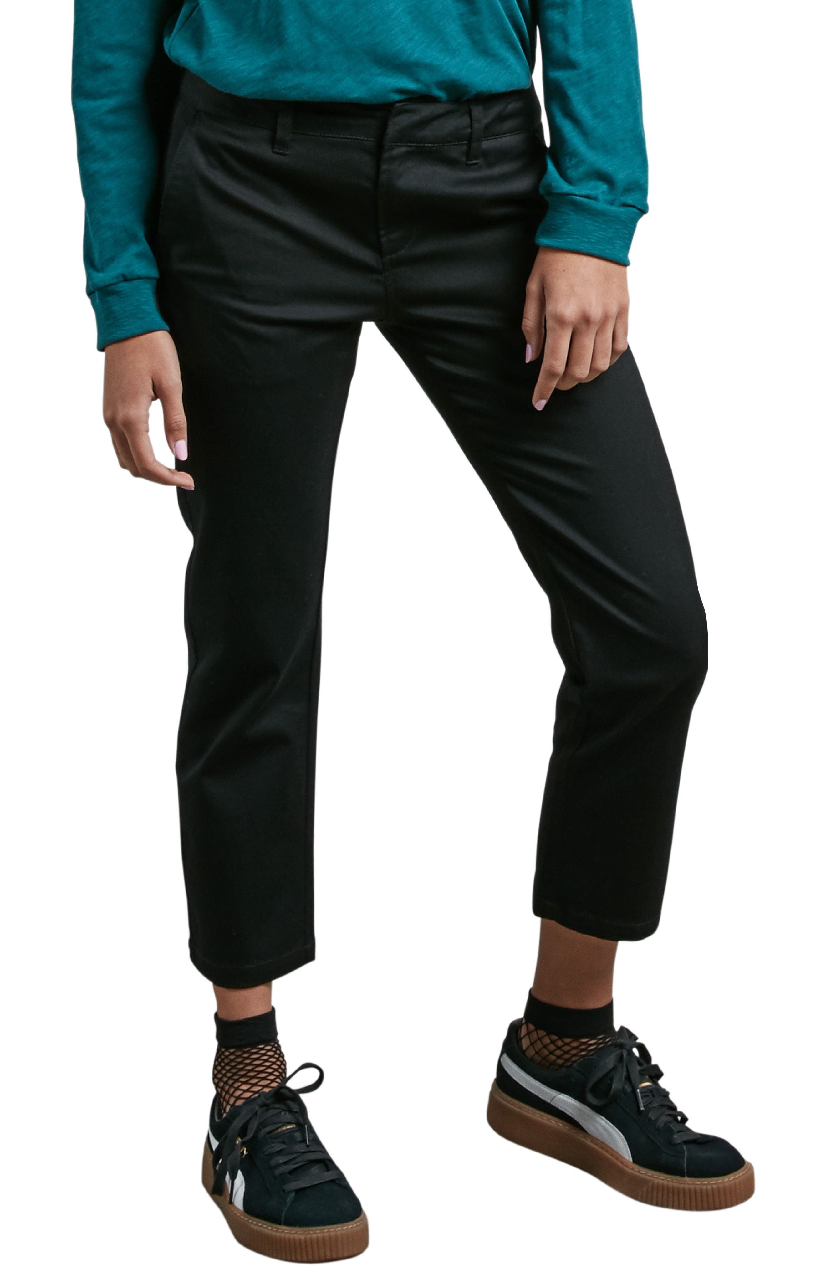 Alternate Image 1 Selected - Volcom Frochickie Crop Pants