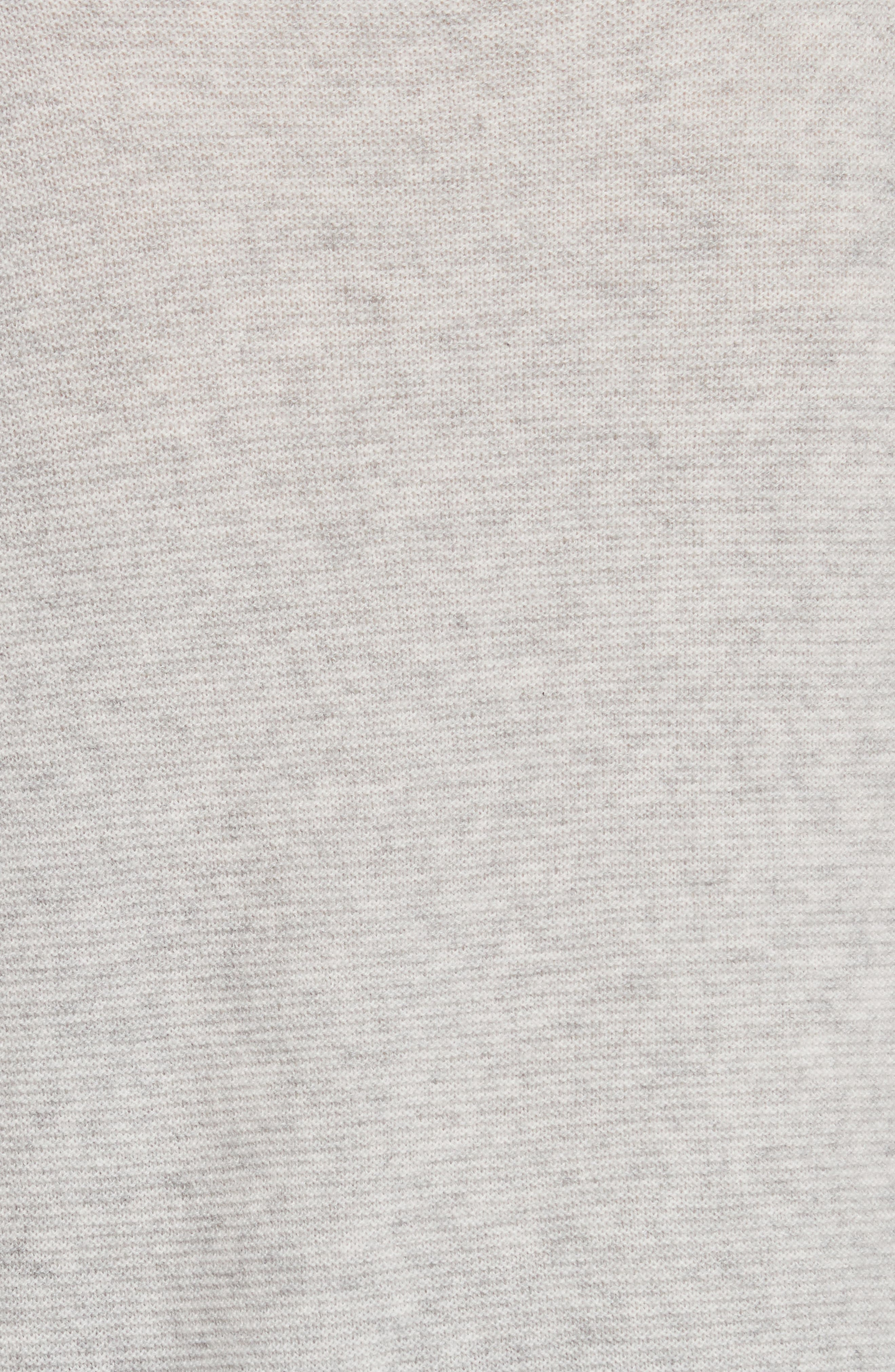 Noely Wool and Cashmere Sweater,                             Alternate thumbnail 5, color,                             Light Heather Grey