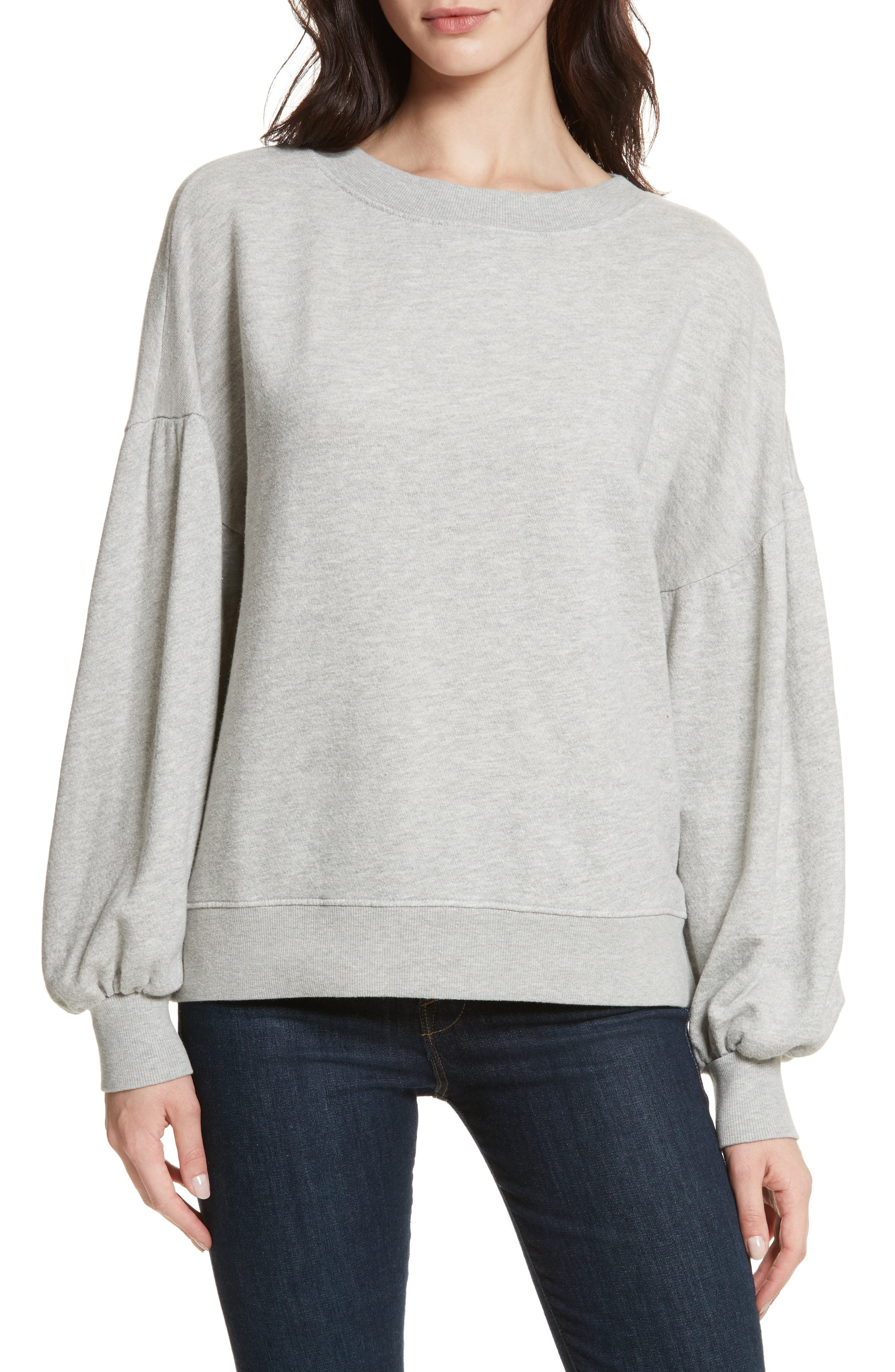 Alternate Image 1 Selected - Joie Isae Bishop Sleeve Sweatshirt
