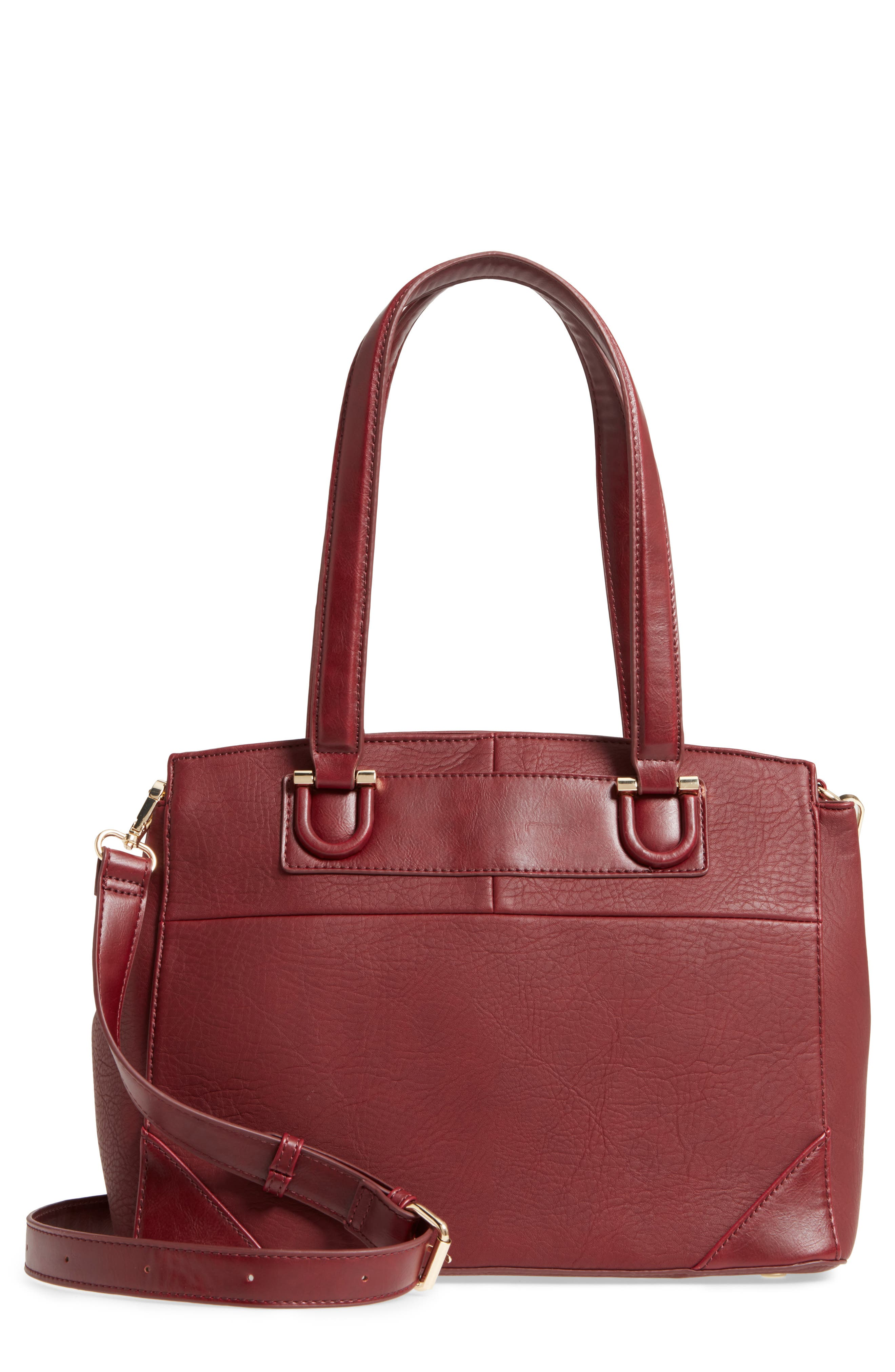 Main Image - Sole Society Sterling Faux Leather Satchel