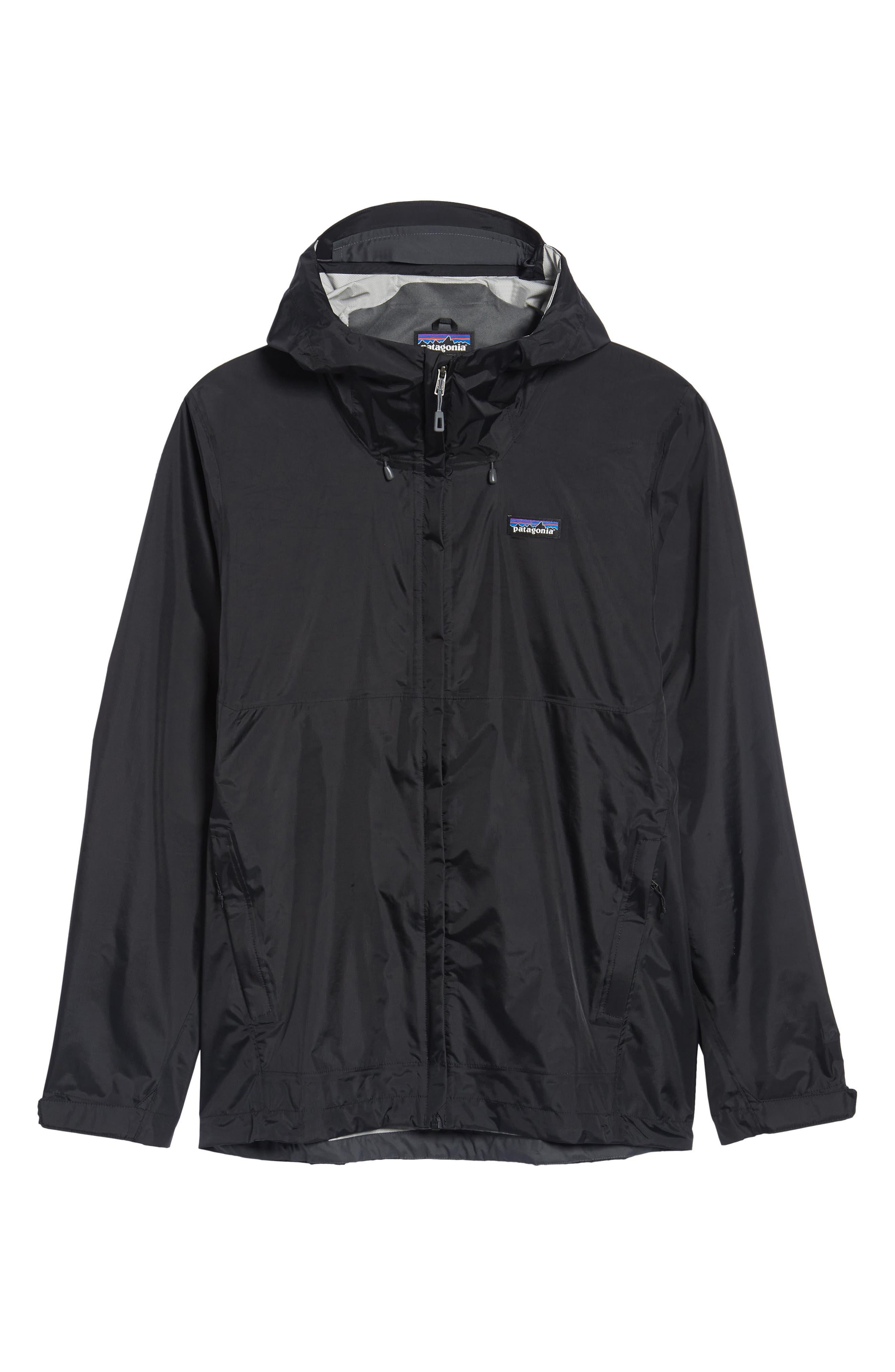 'Torrentshell' Packable Rain Jacket,                         Main,                         color, Black