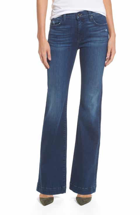 7 For All Mankind® Dojo Wide Leg Jeans (Bella Heritage)
