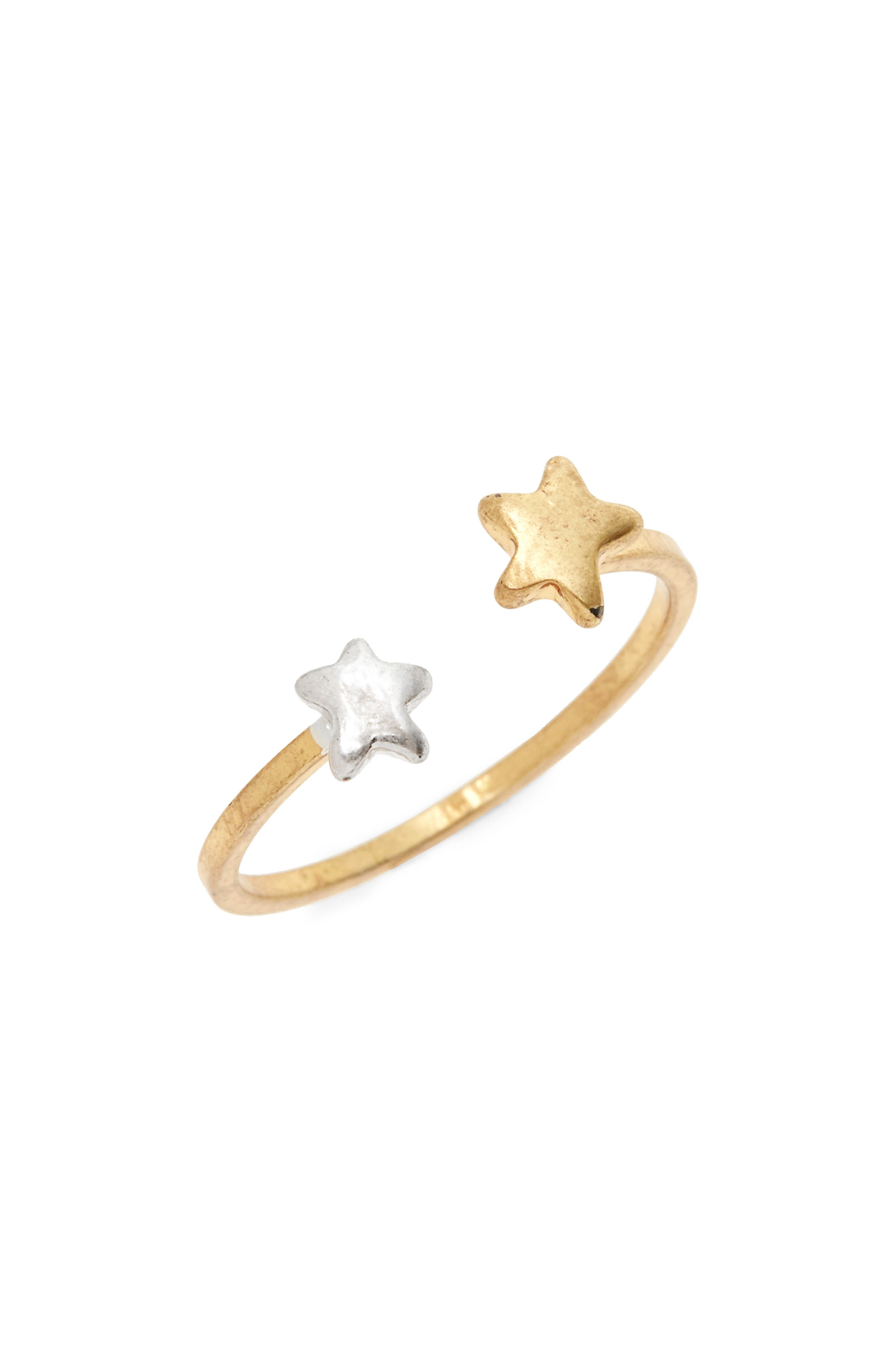 Madewell Stellar Star Open Ring
