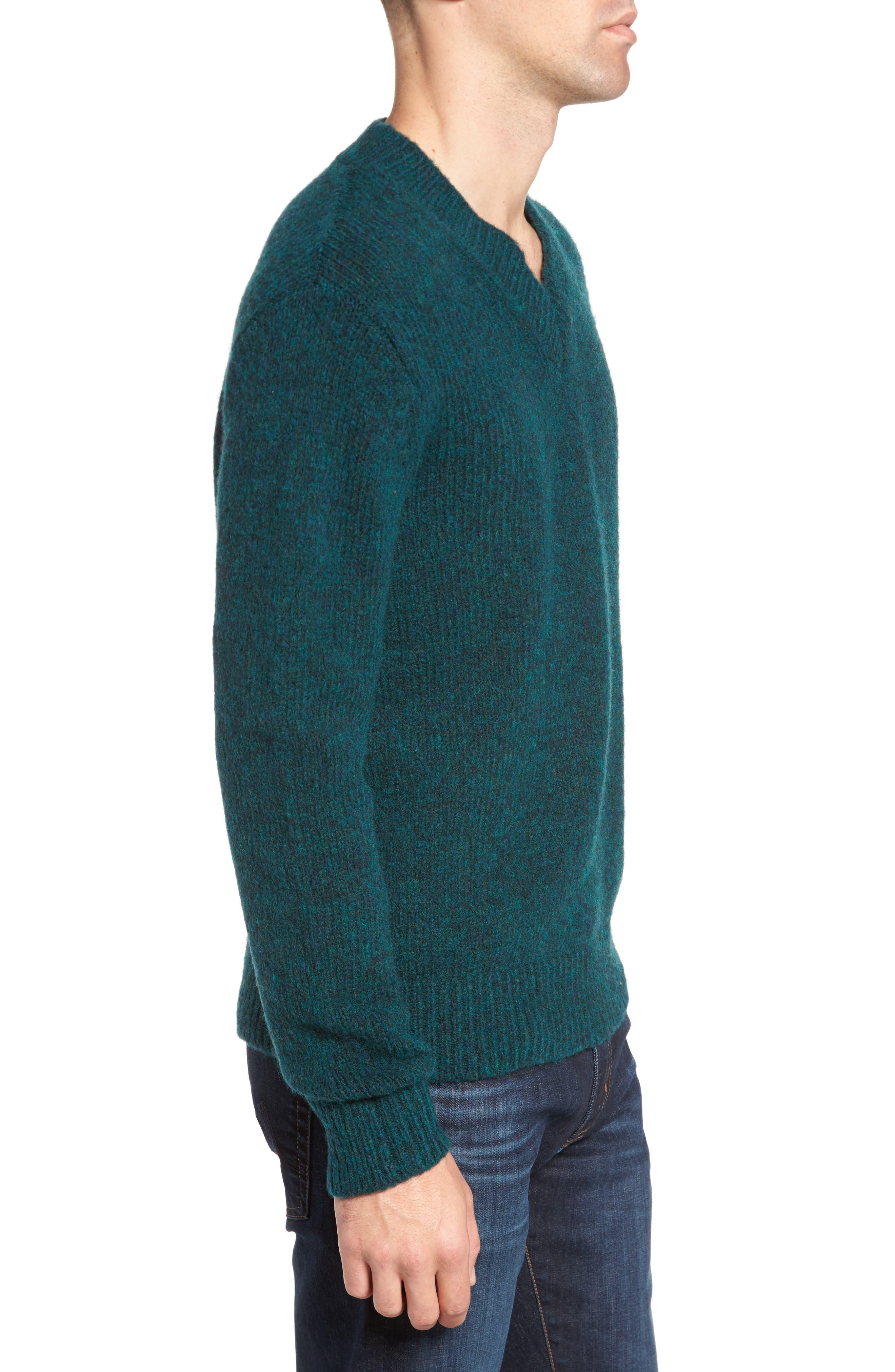 Alternate Image 3  - Bonobos Fuzzy Deep V-Neck Wool Blend Sweater