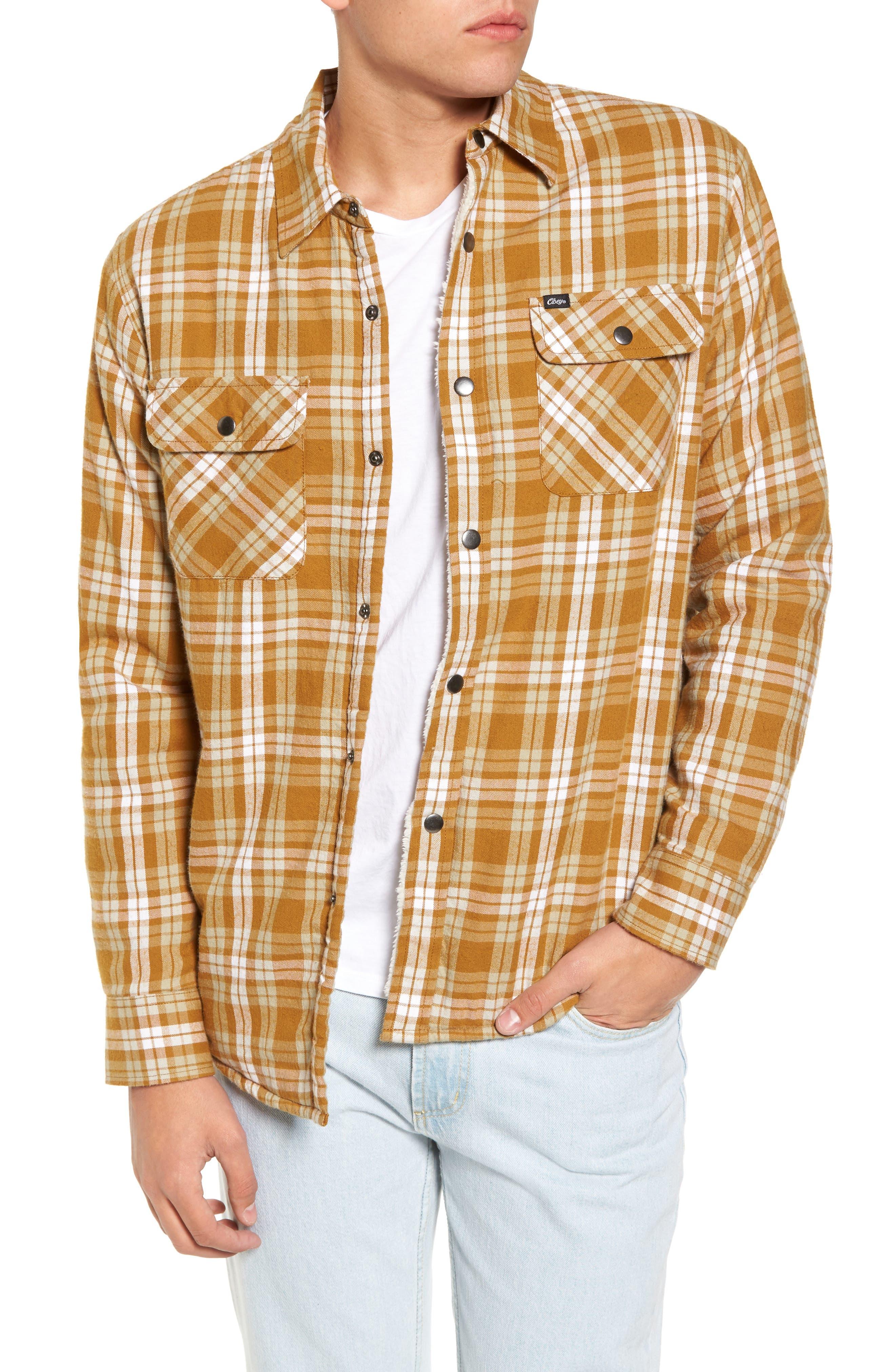 Alternate Image 1 Selected - Obey Seattle Shirt Jacket